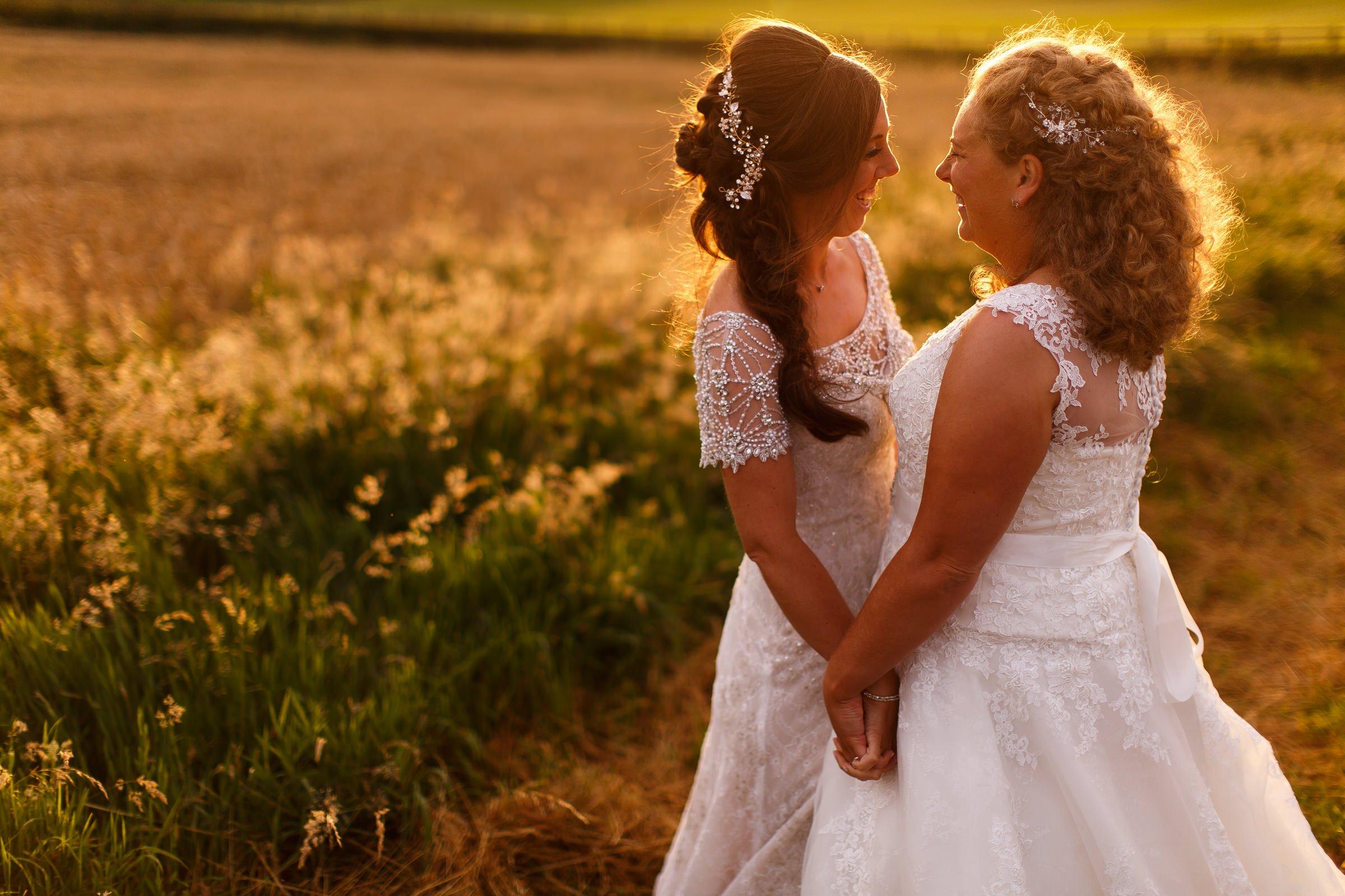 Beautiful same sex wedding photography