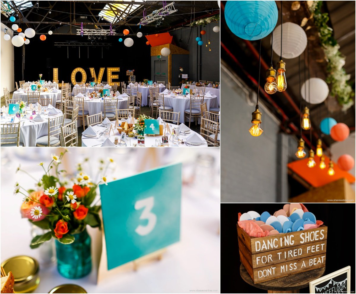 Wedding reception at Constellations Liverpool