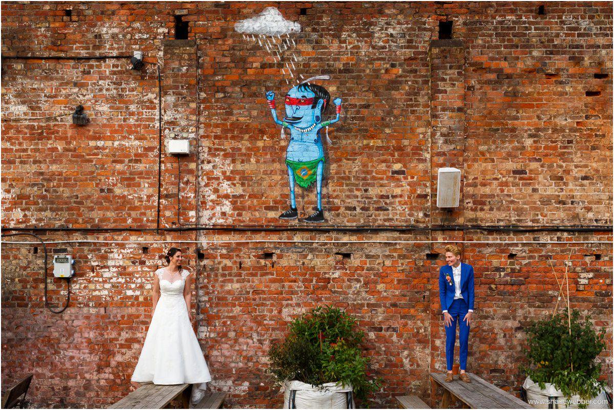Same sex wedding photos at Constellations
