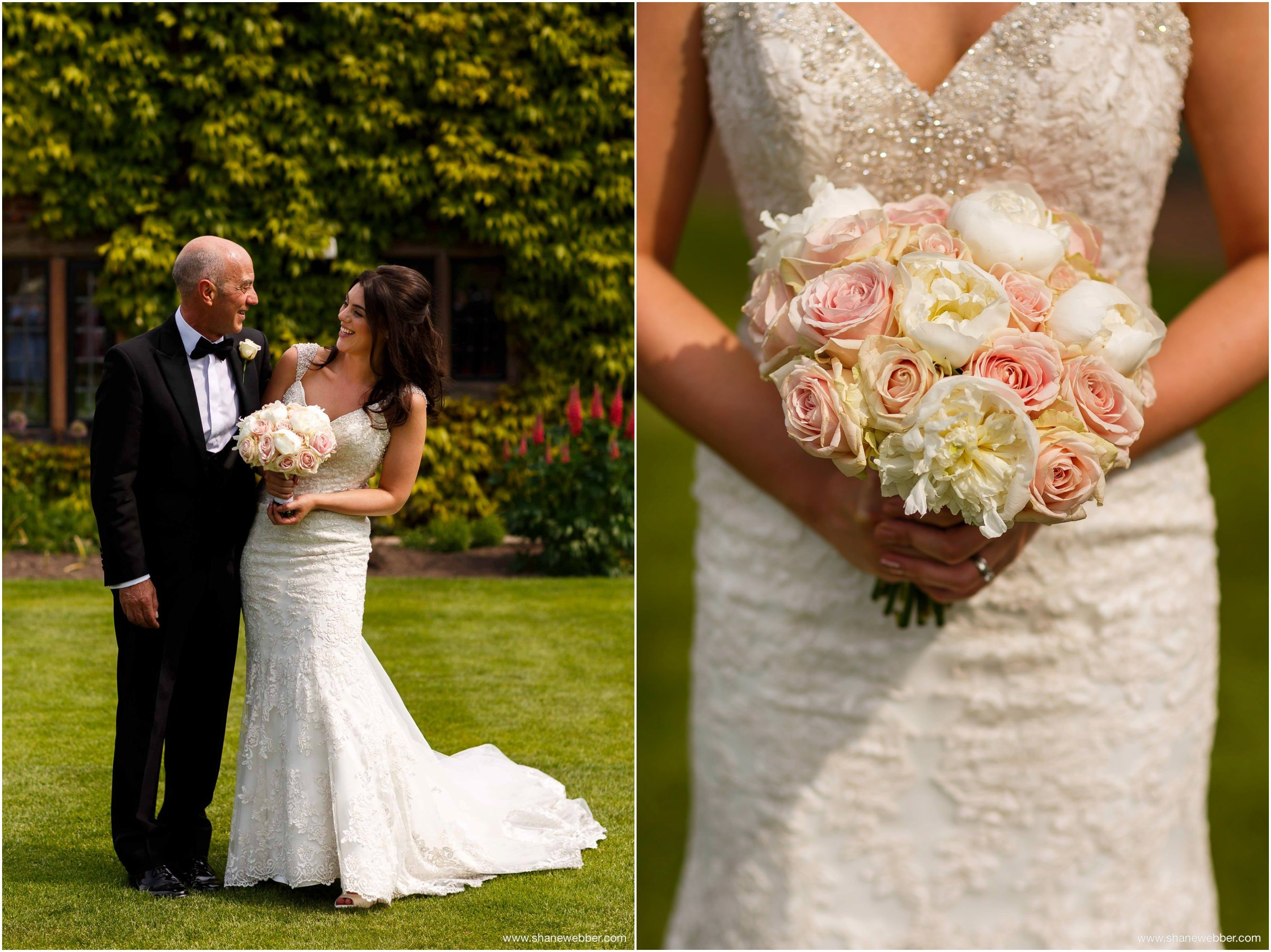 Stunning bride with flowers
