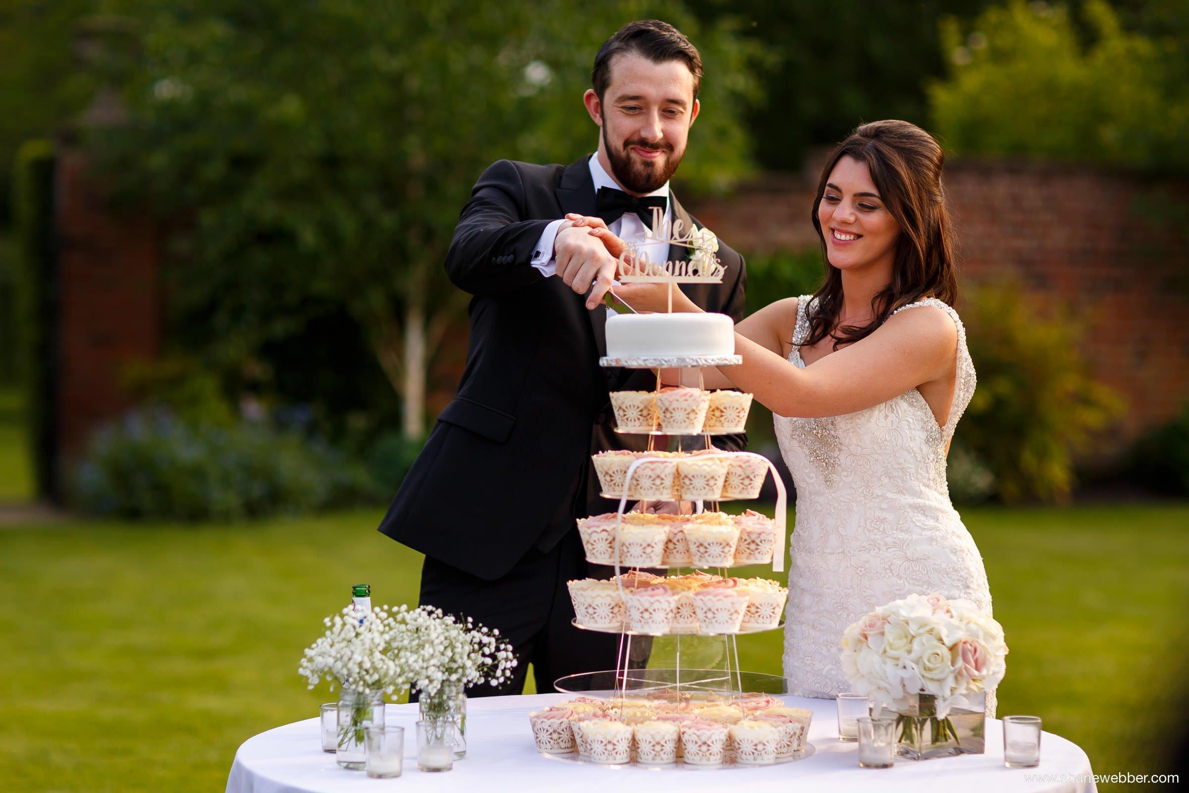 Cake cutting photograph