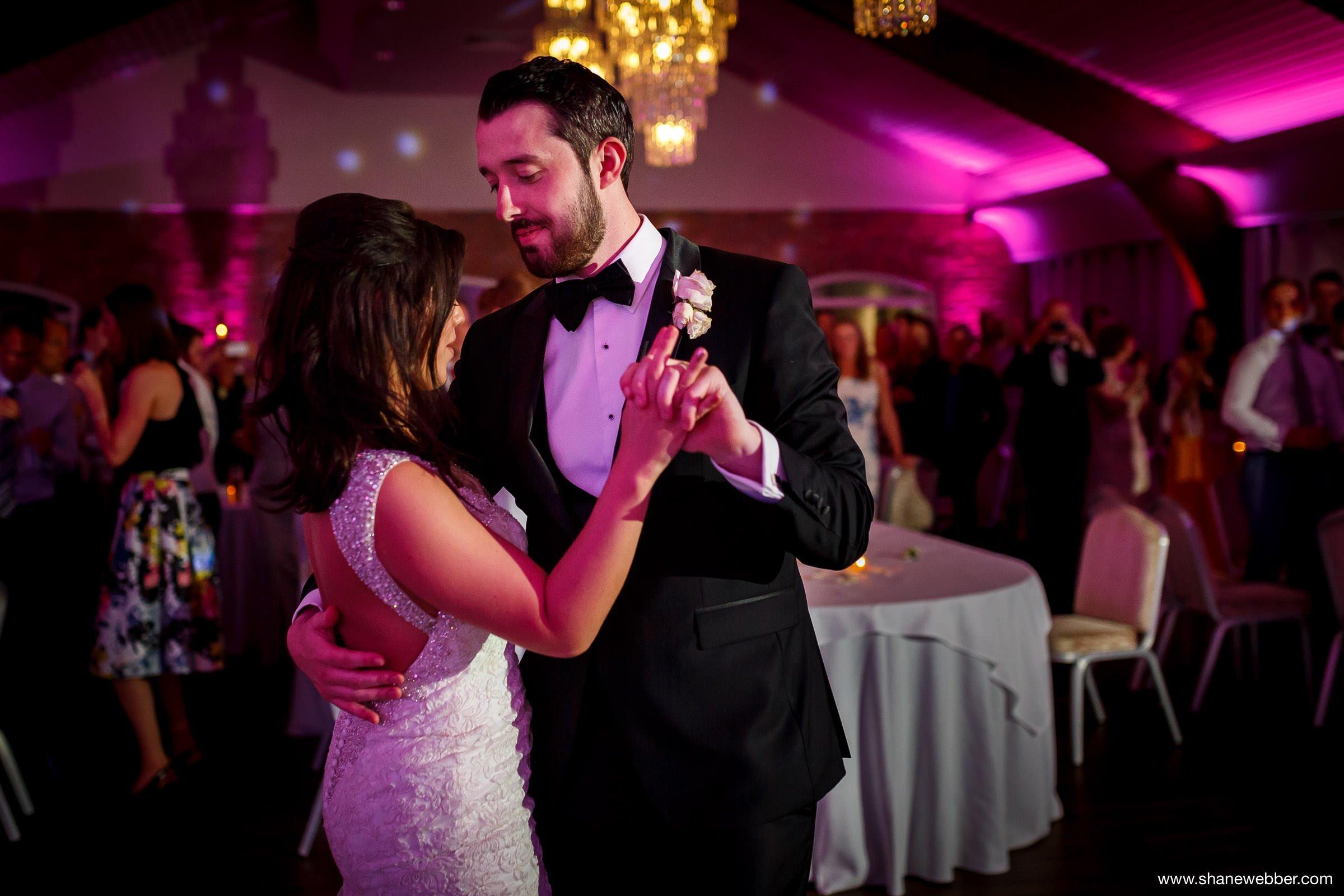 First dance at Colshaw Hall wedding