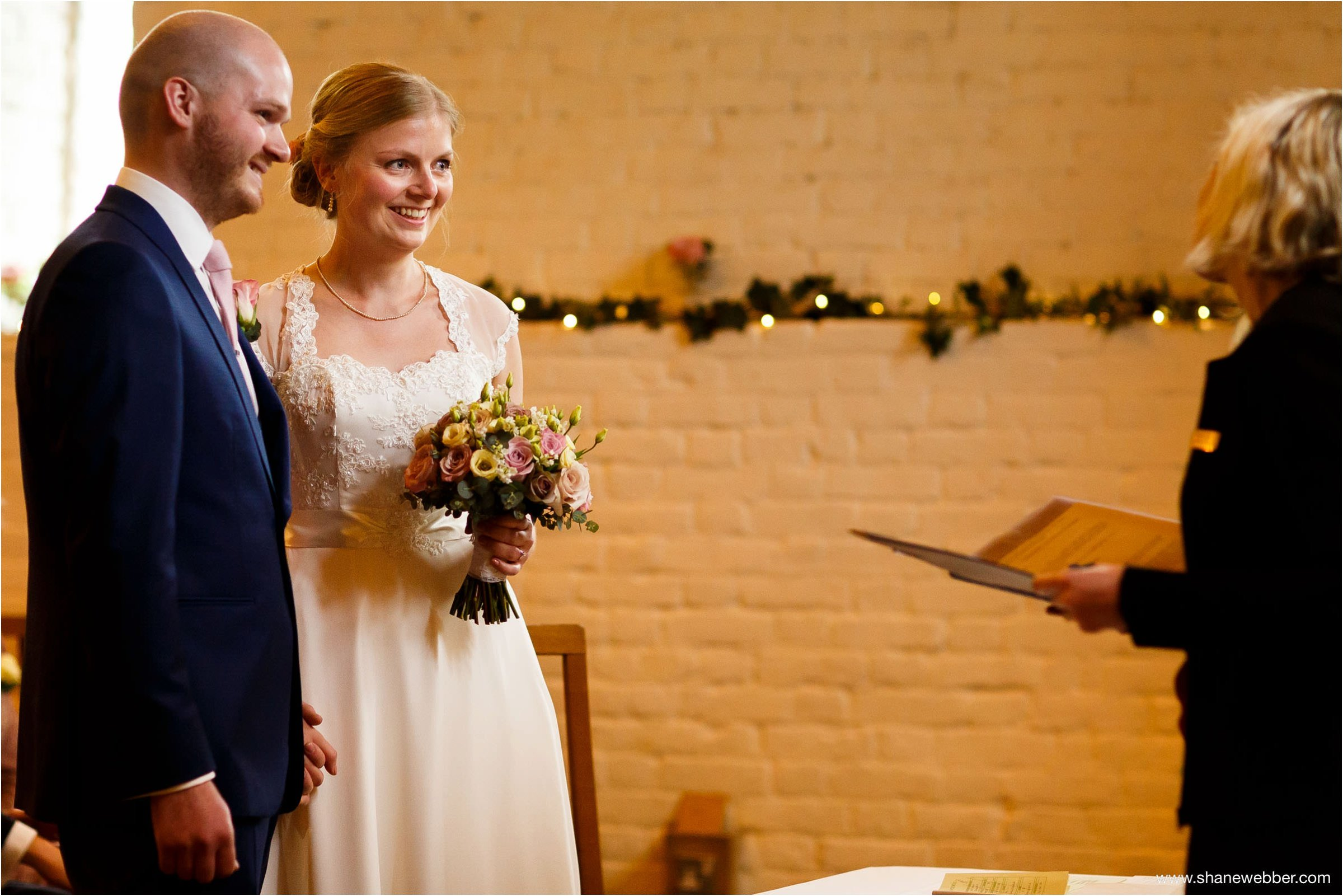 Ufton Court Barn Wedding Ceremony