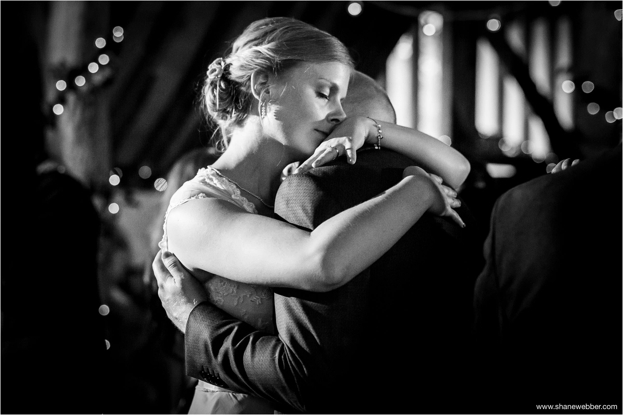 First dance at Ufton Court Tithe Barn