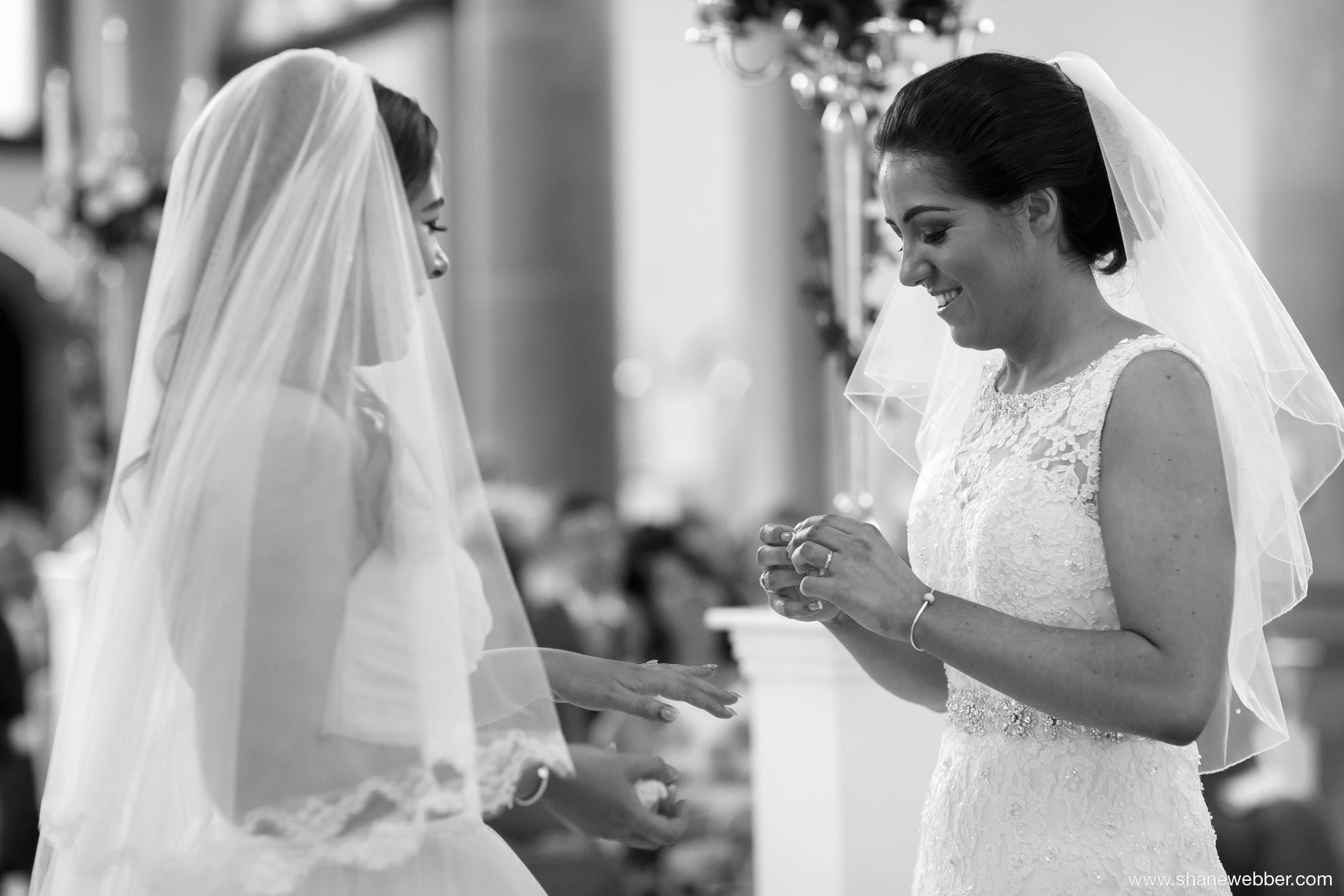 Wedding ceremony at Gorton Monastery Manchester