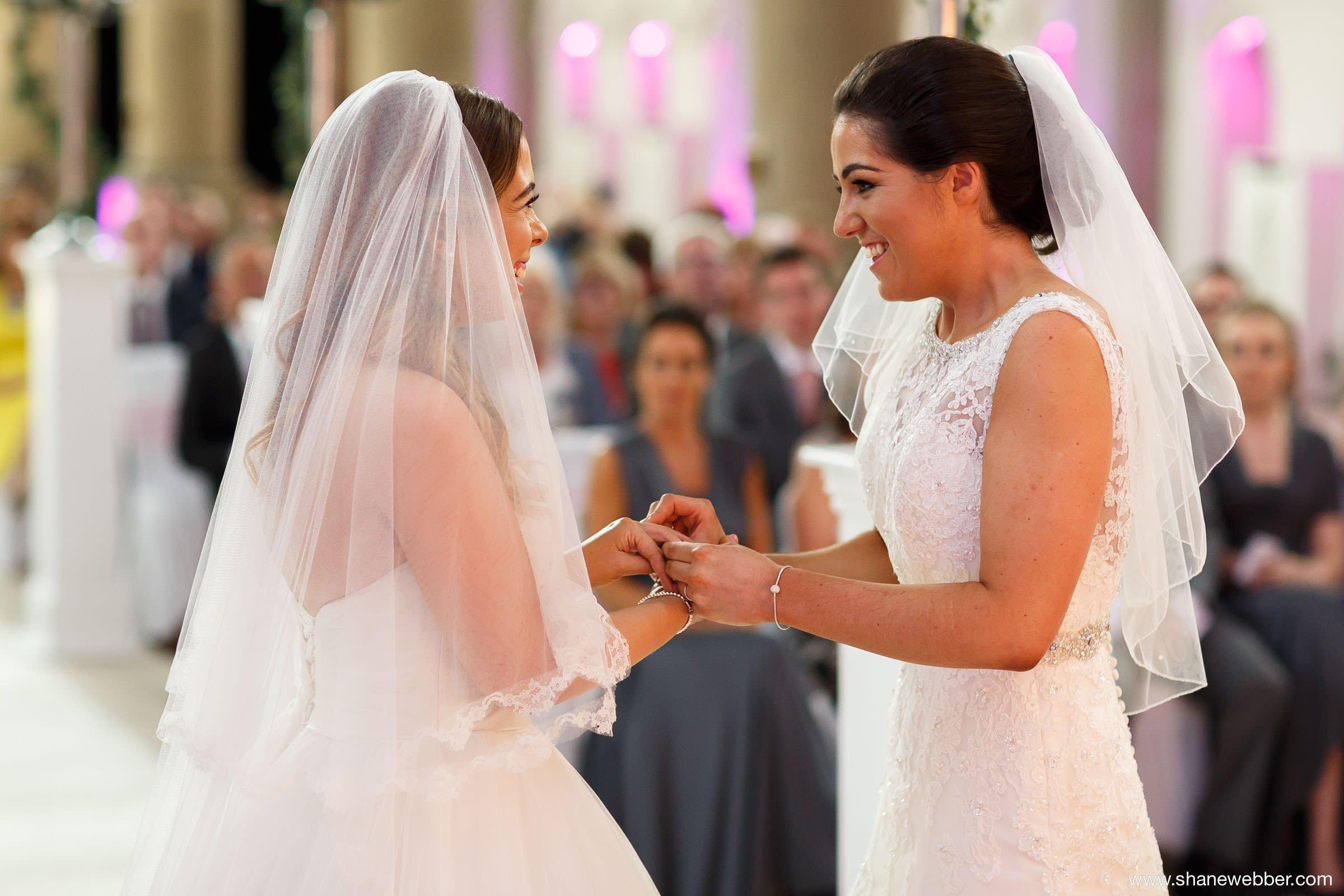 Same sex wedding ceremonies