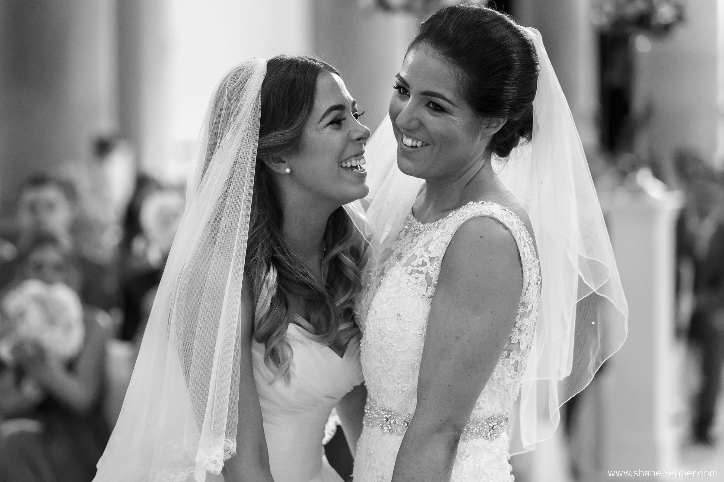 Beautiful photo of two brides