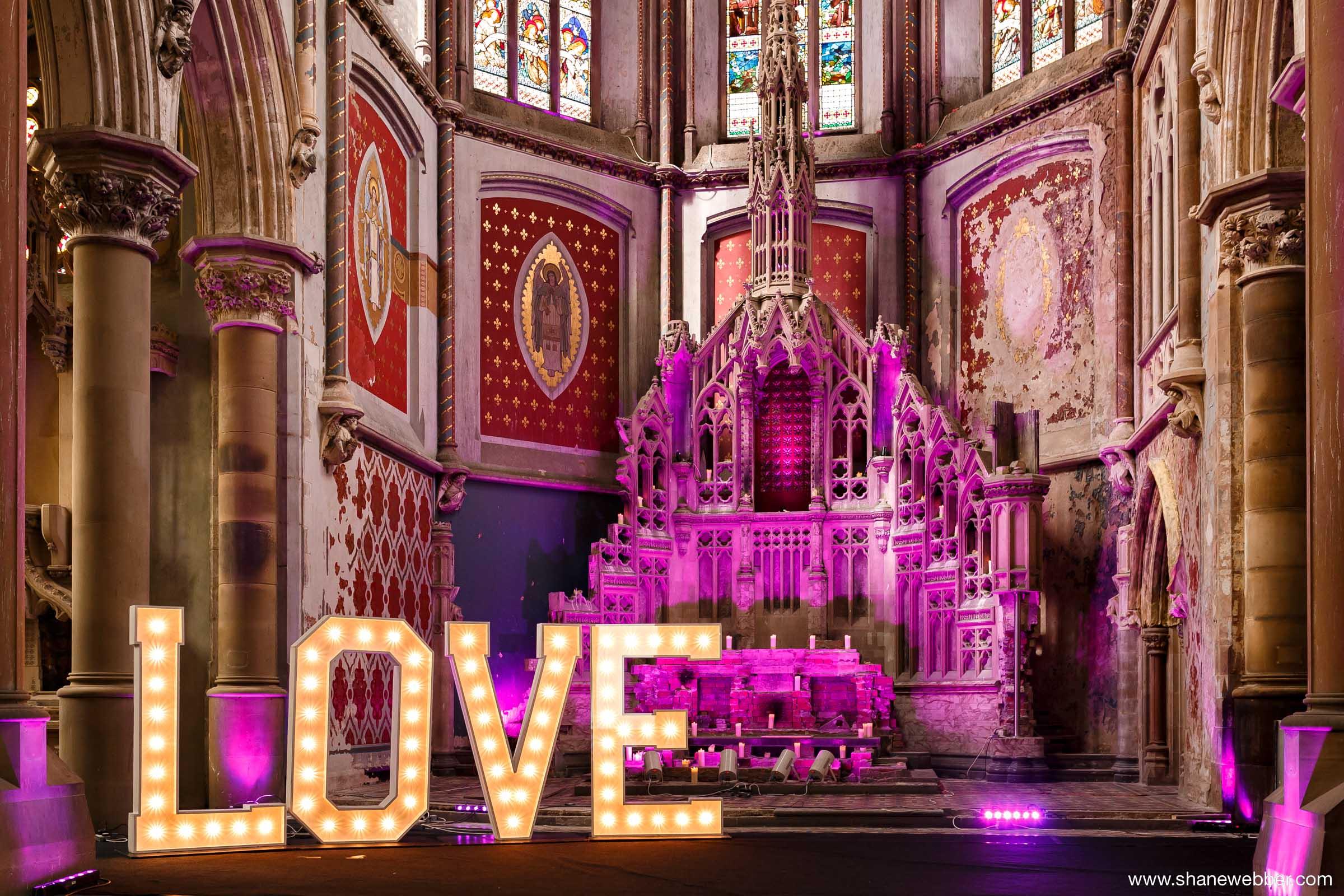 Gorton Monastery Manchester wedding photography