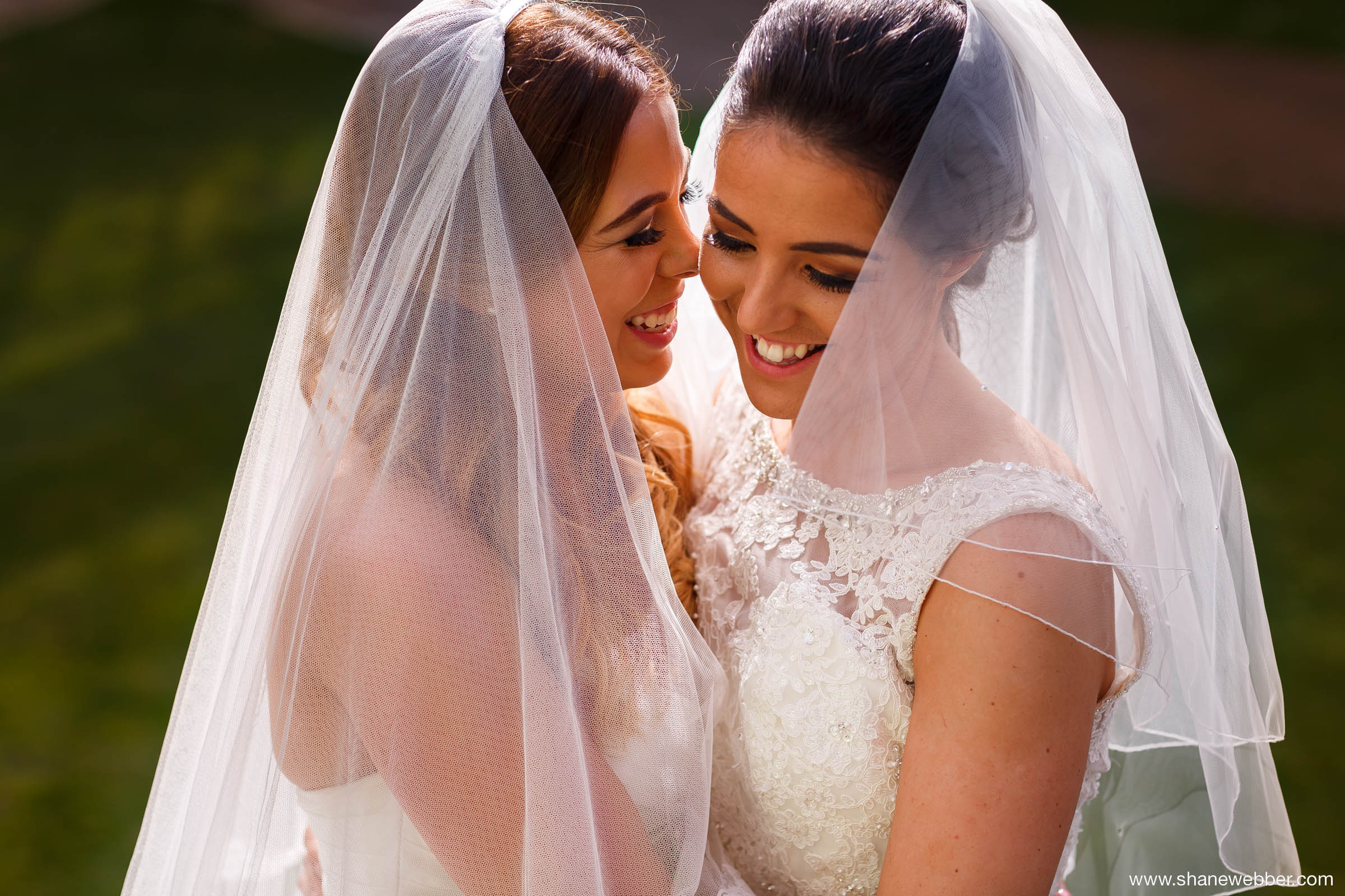 Same sex wedding photography of two brides