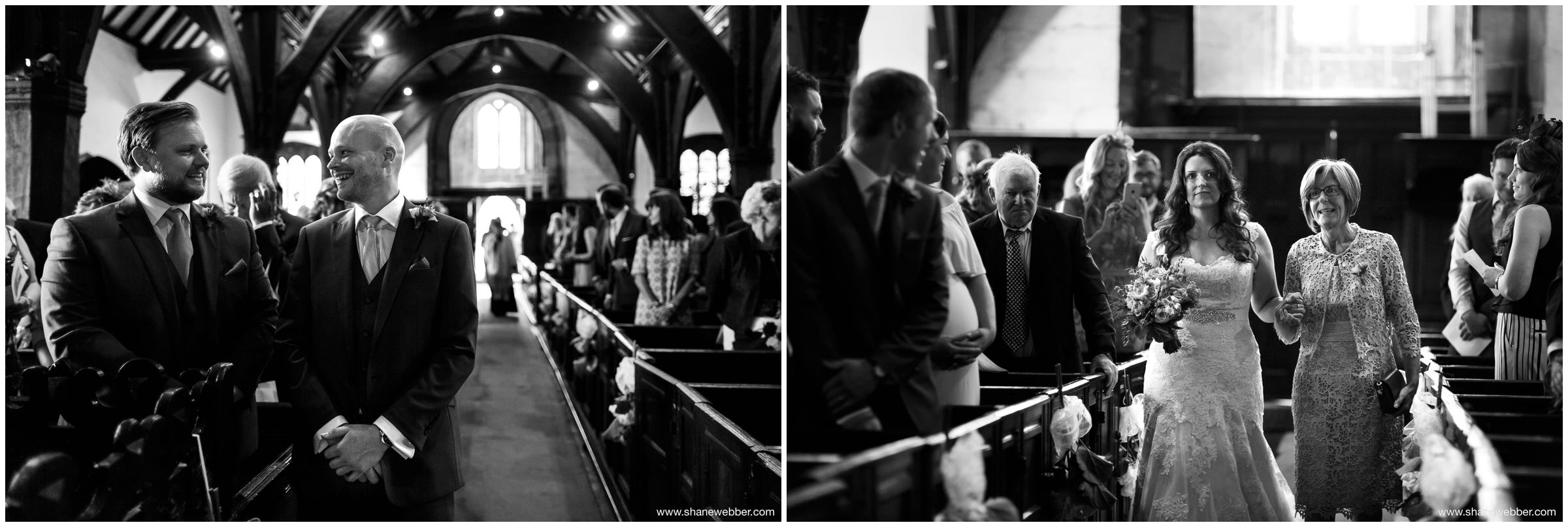 Wedding Photography at Saint Oswald's Church in Lower Peover