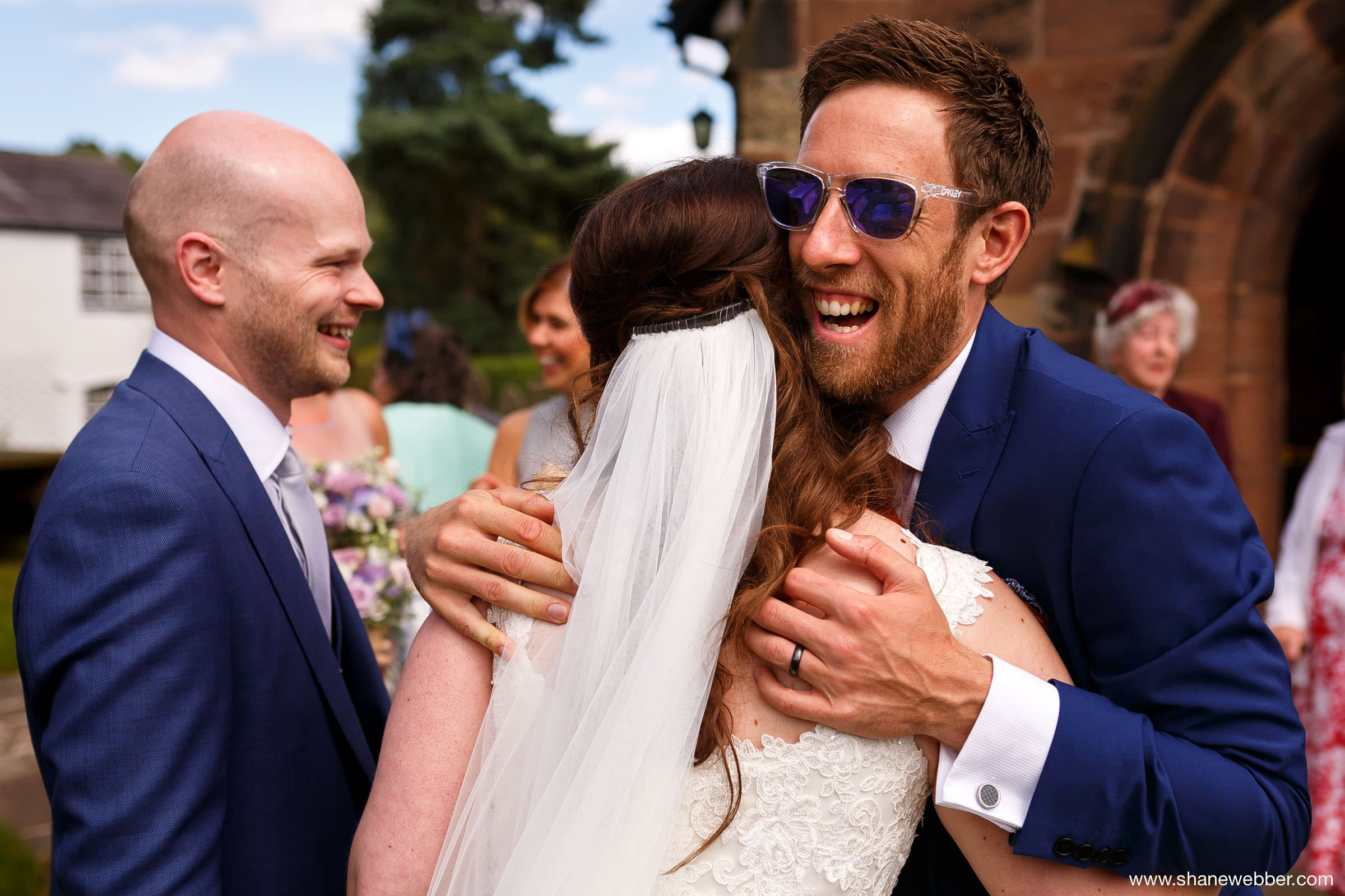 Colourful and natural wedding photography Manchester