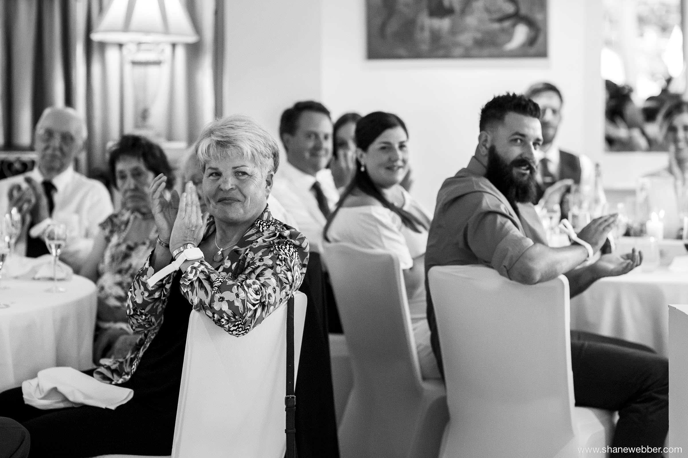 Wedding reception at the Yellow Broom Restaurant