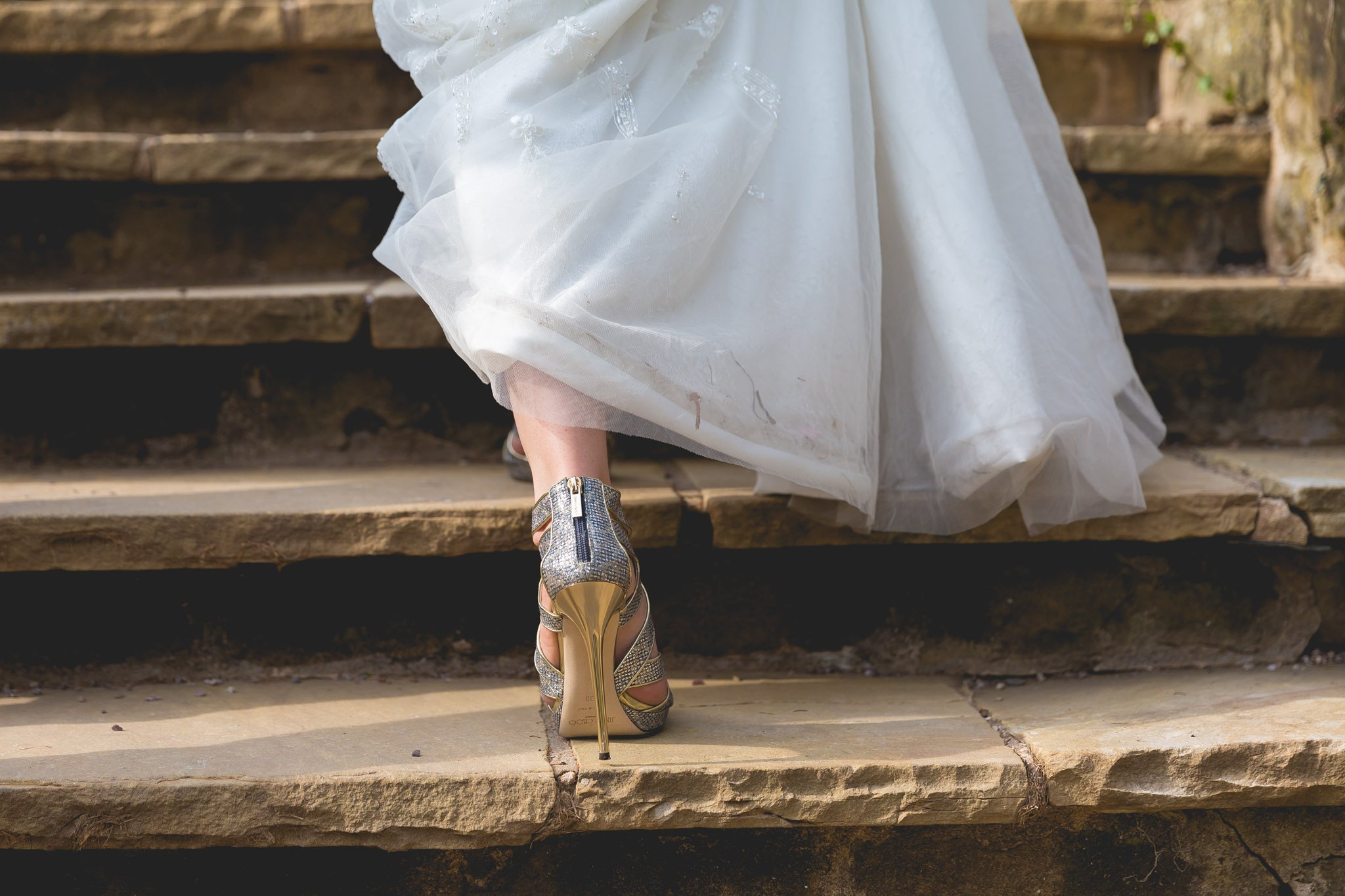 Luxury Jimmy Choo wedding shoes
