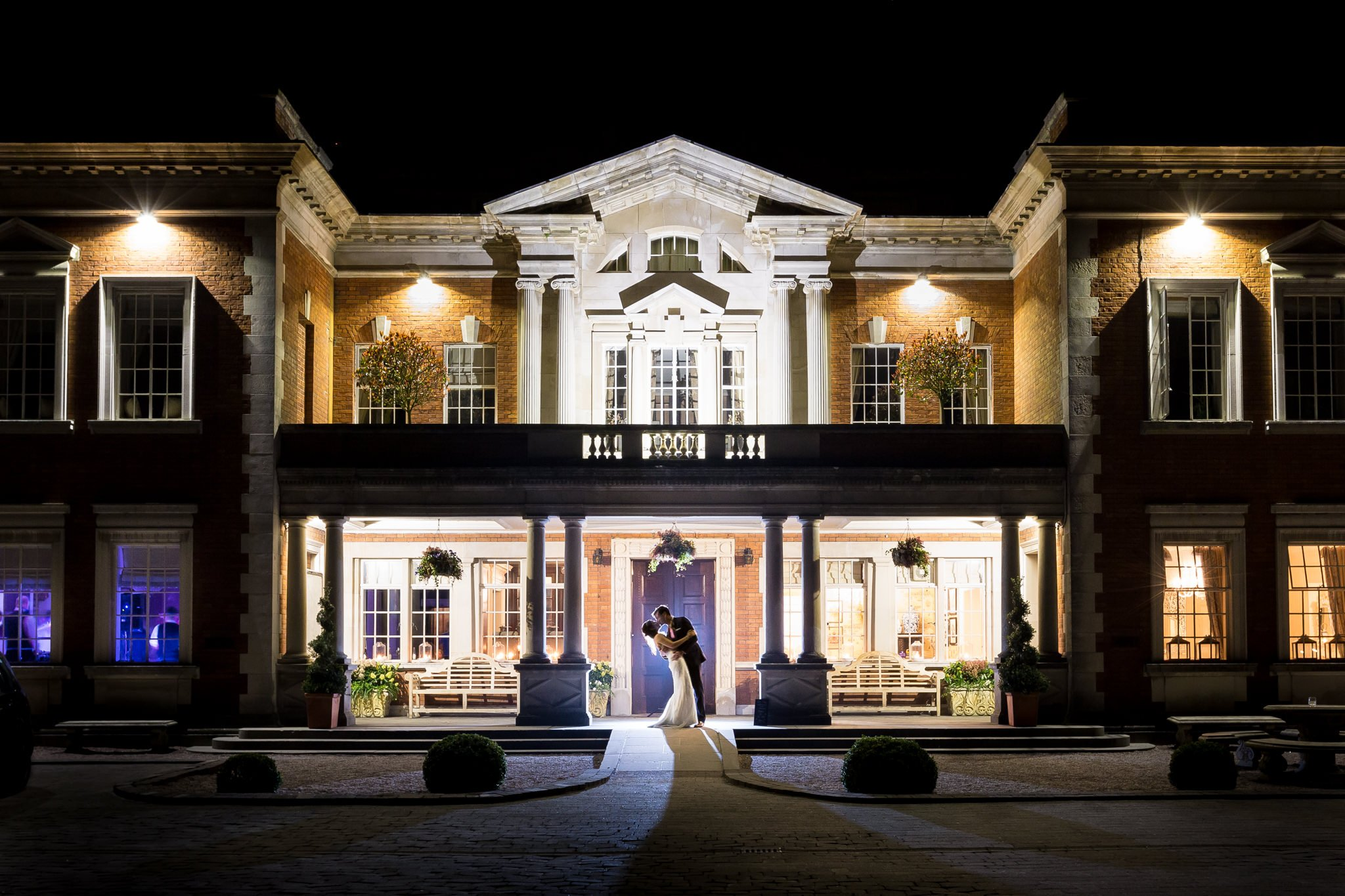 Wedding photography at Eaves Hall in Lancashire