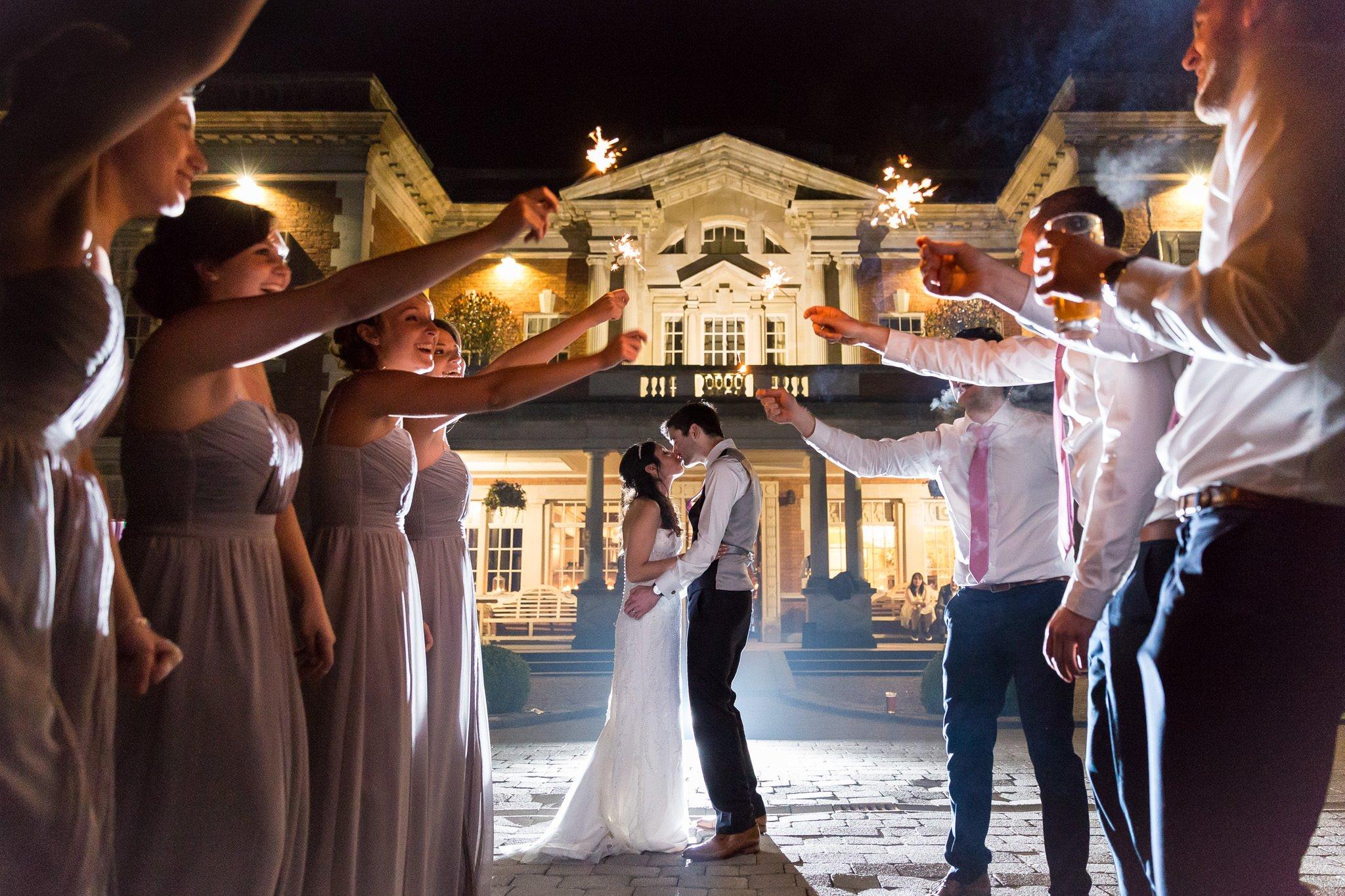 Award winning photographs at Eaves Hall weddings