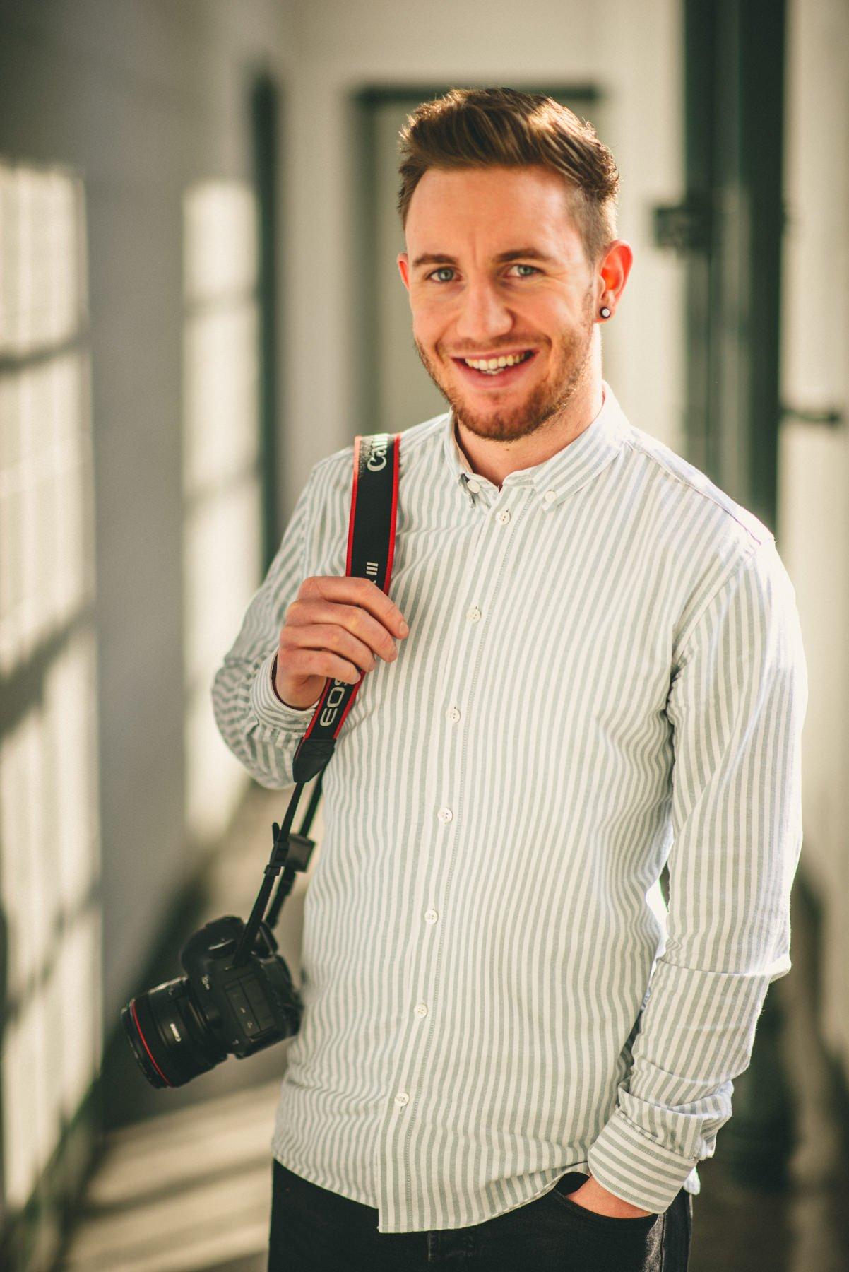 About Manchester Wedding Photographer Shane Webber