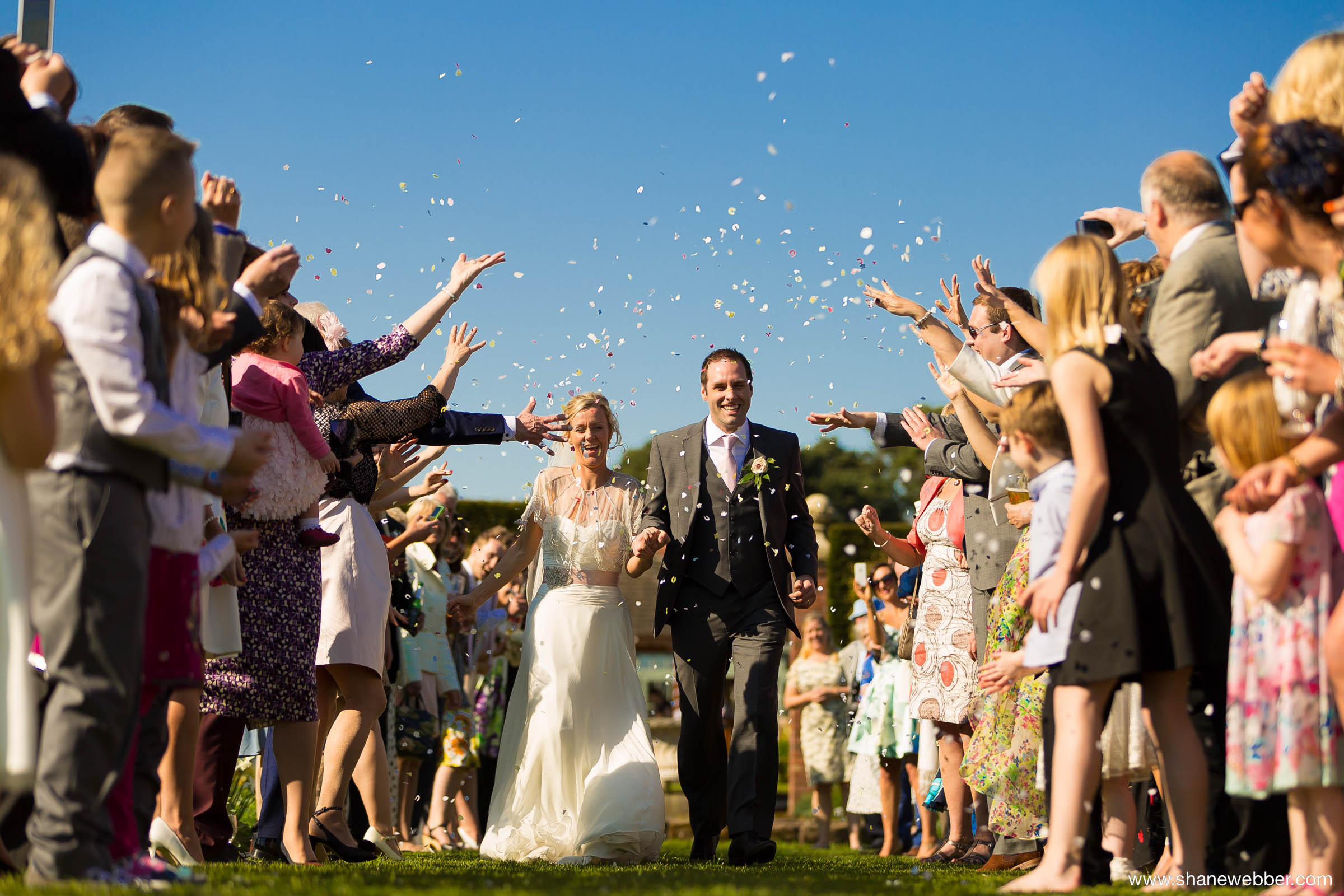 Colourful summer wedding photography