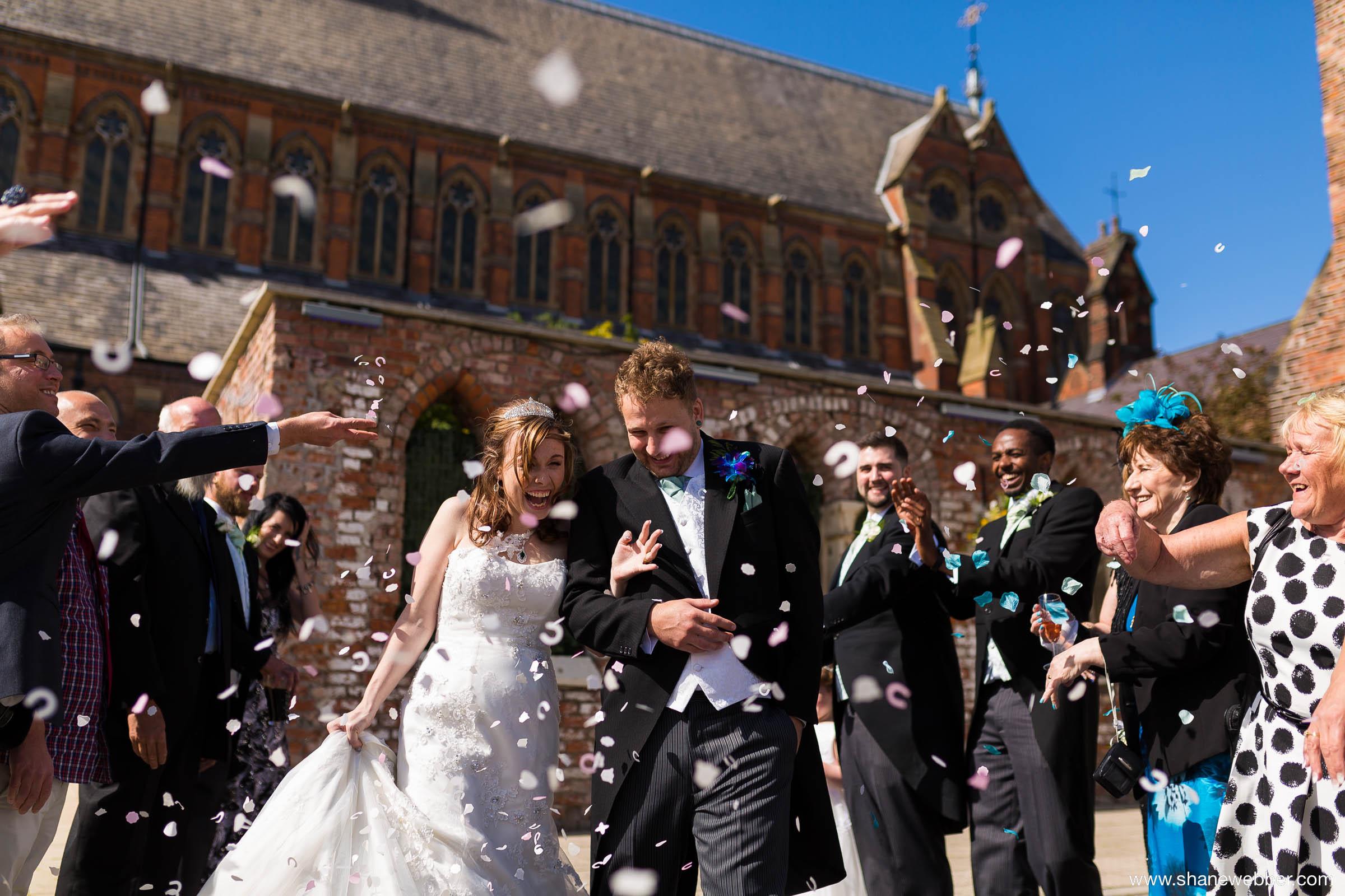 Gorton Monastery Manchester wedding
