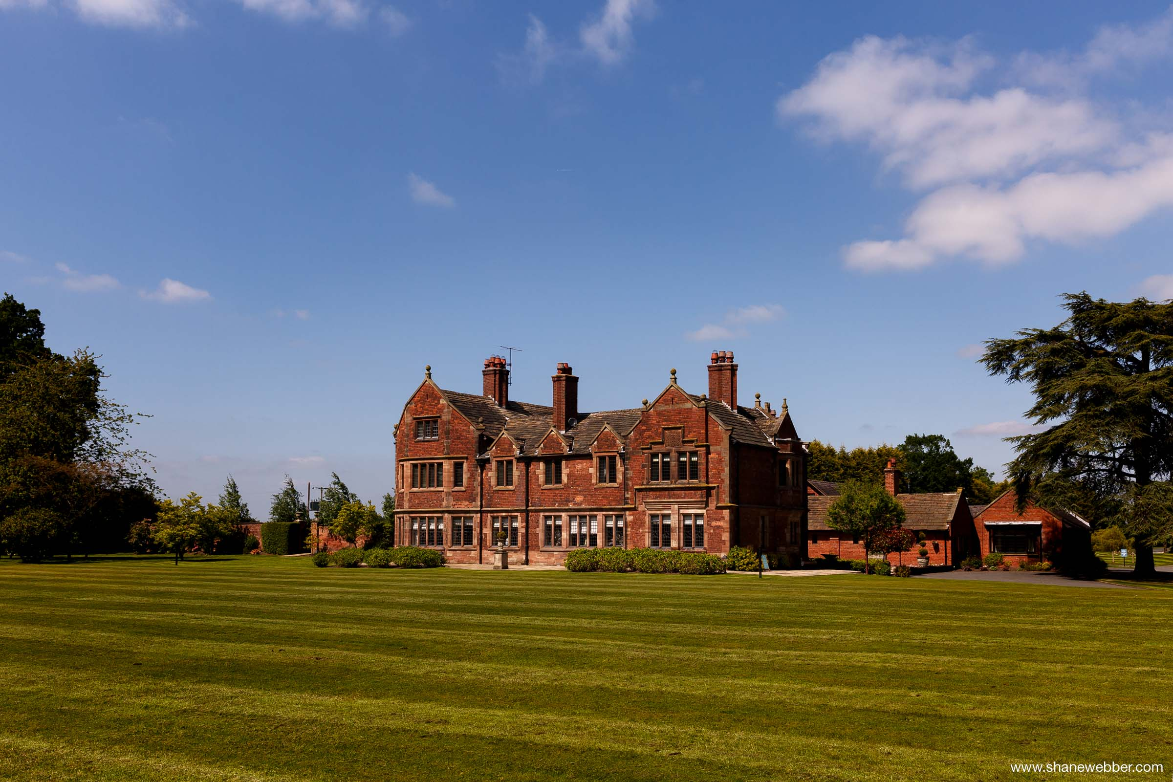 Colshaw Hall Luxury Wedding Venue