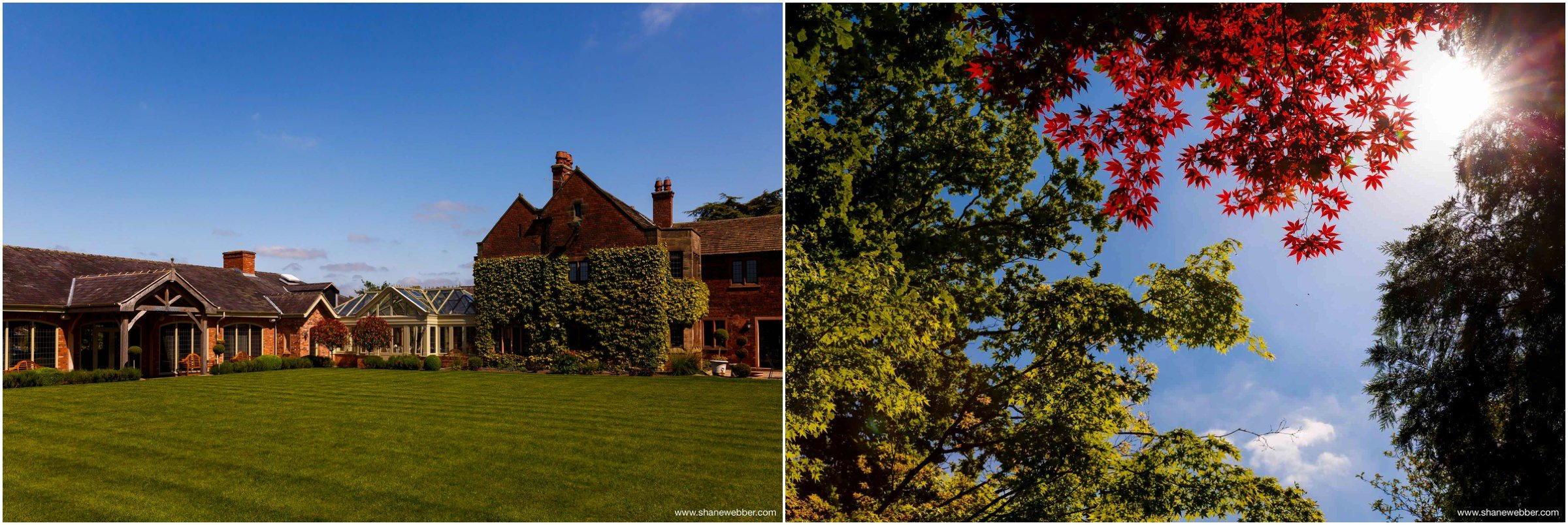 Colshaw Hall Cheshire Wedding Venue