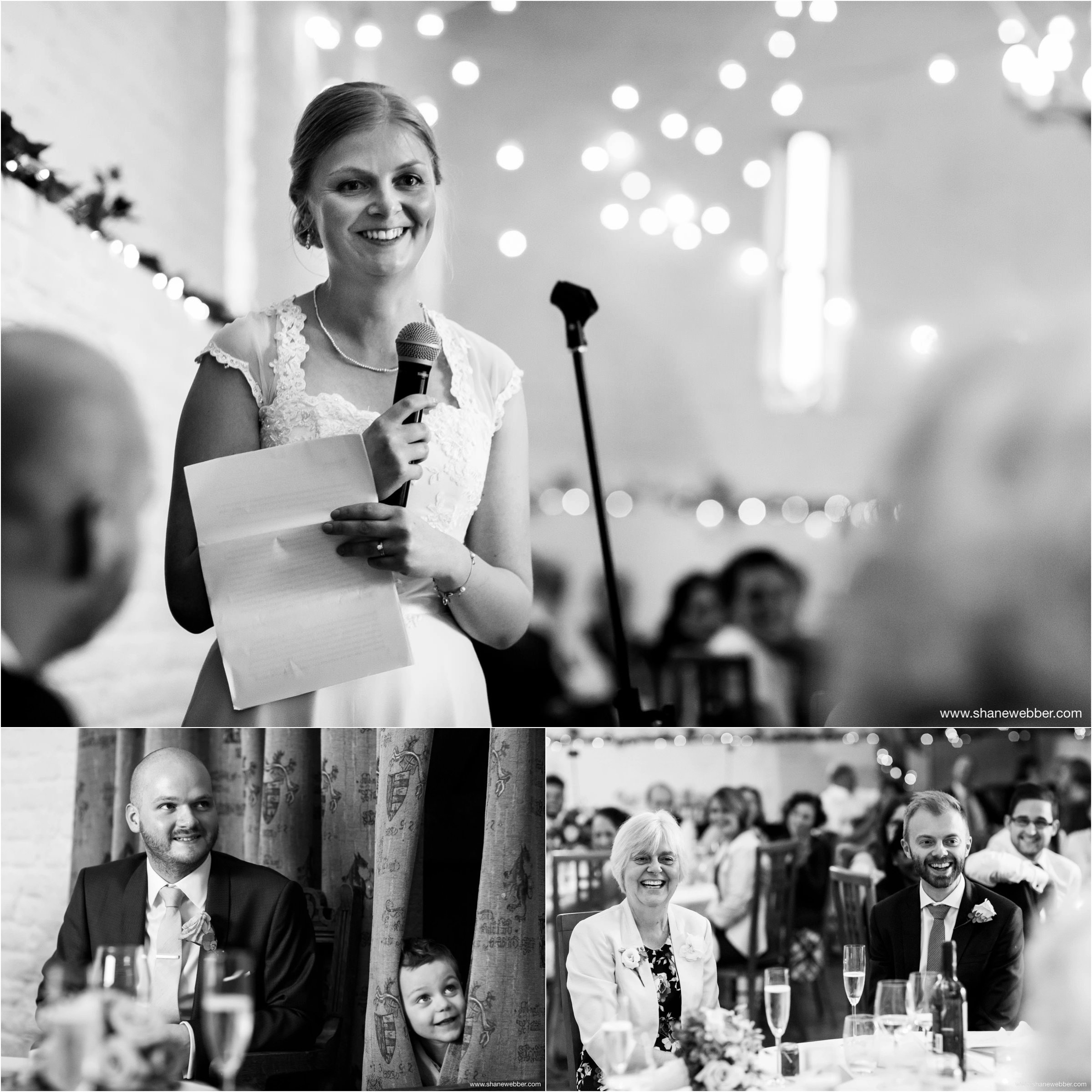 Speeches at Ufton Court Barn