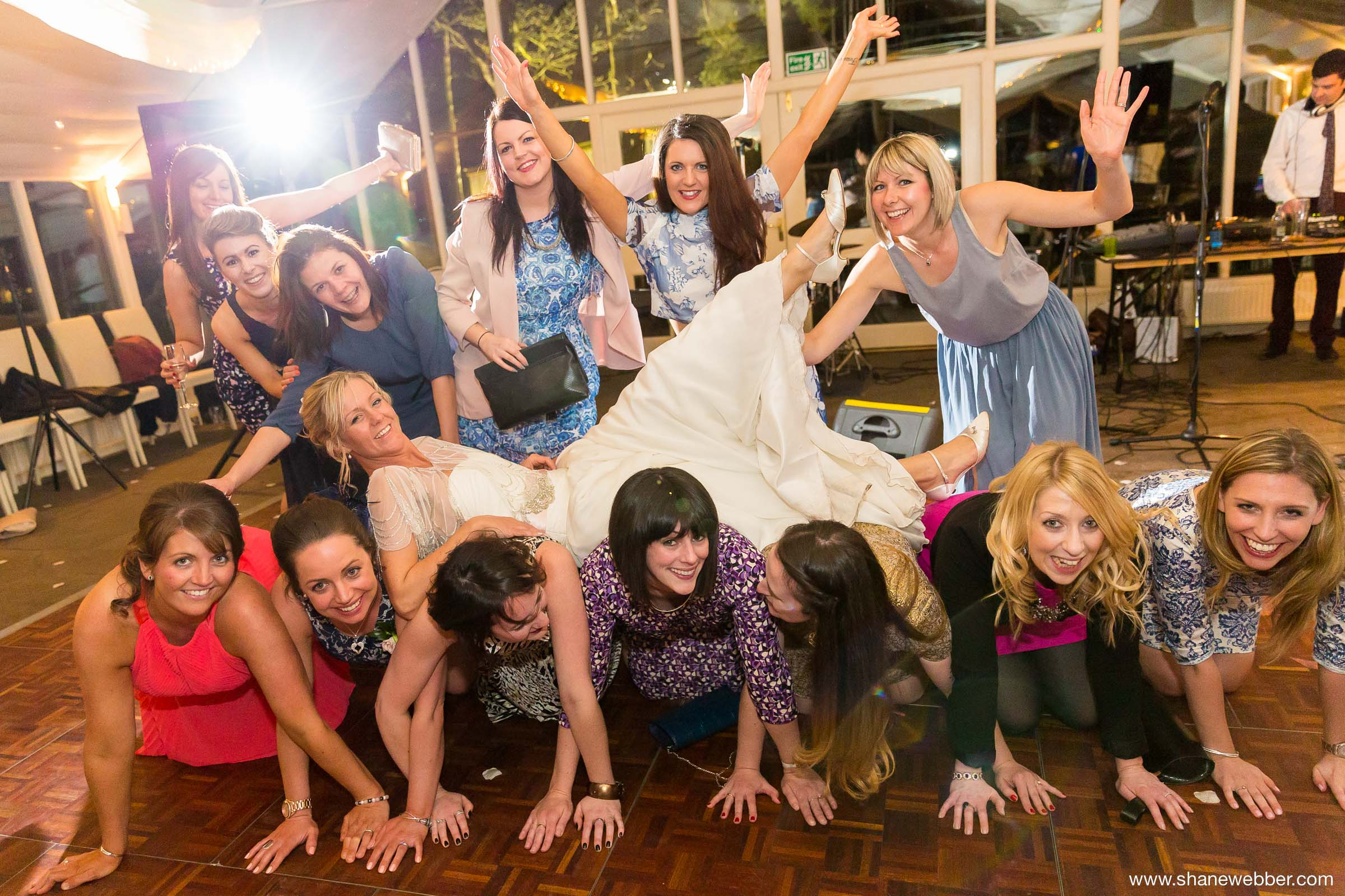 Fun Wedding Photography at Abbeywood Estate
