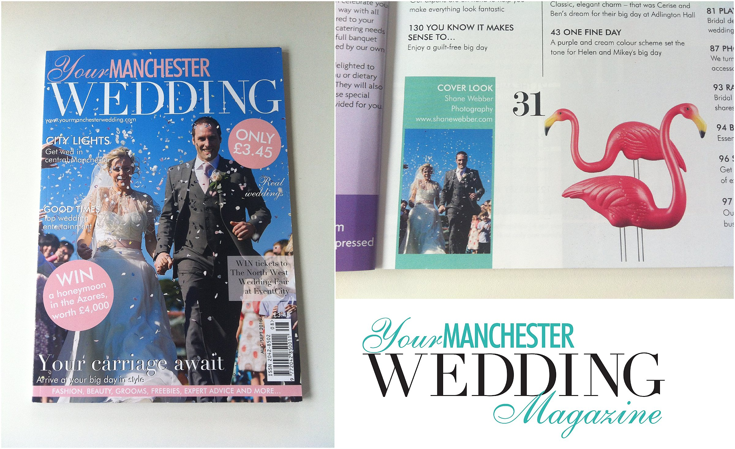 Your Manchester Wedding Magazine August 2015 Photography Feature