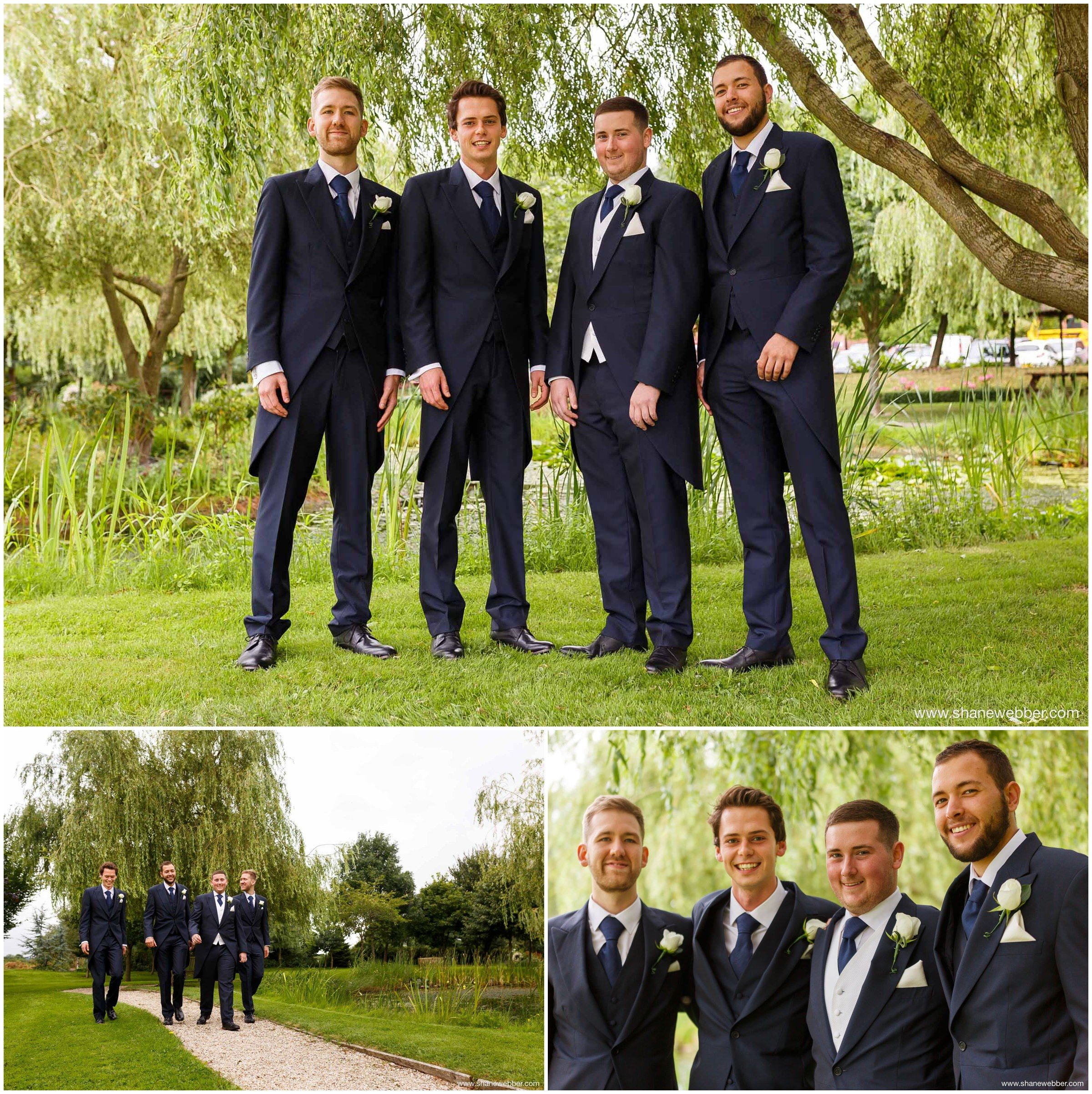 Wedding photography at the Grosvenor Pulford Hotel Chester