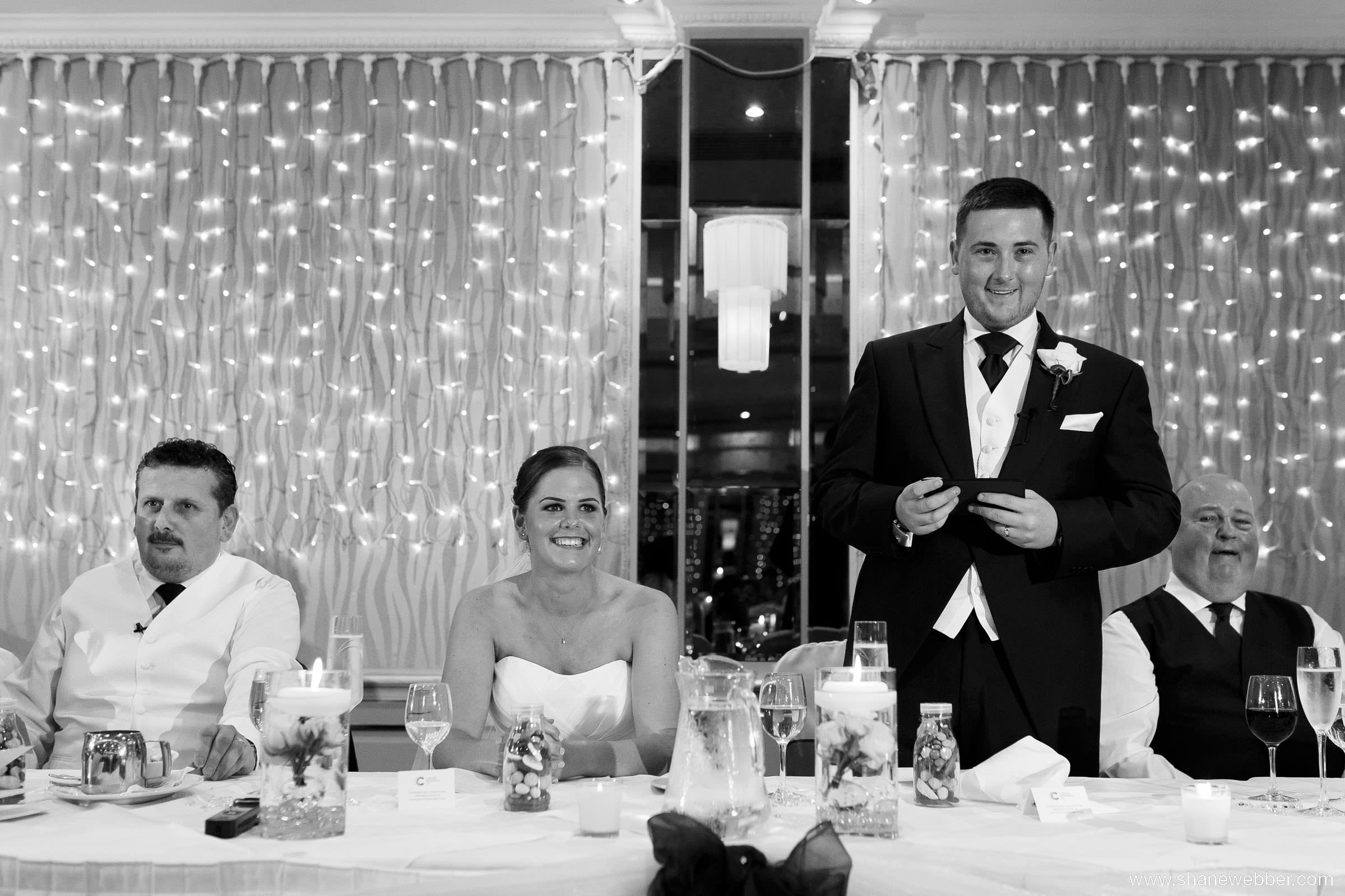 Hilarious wedding speeches