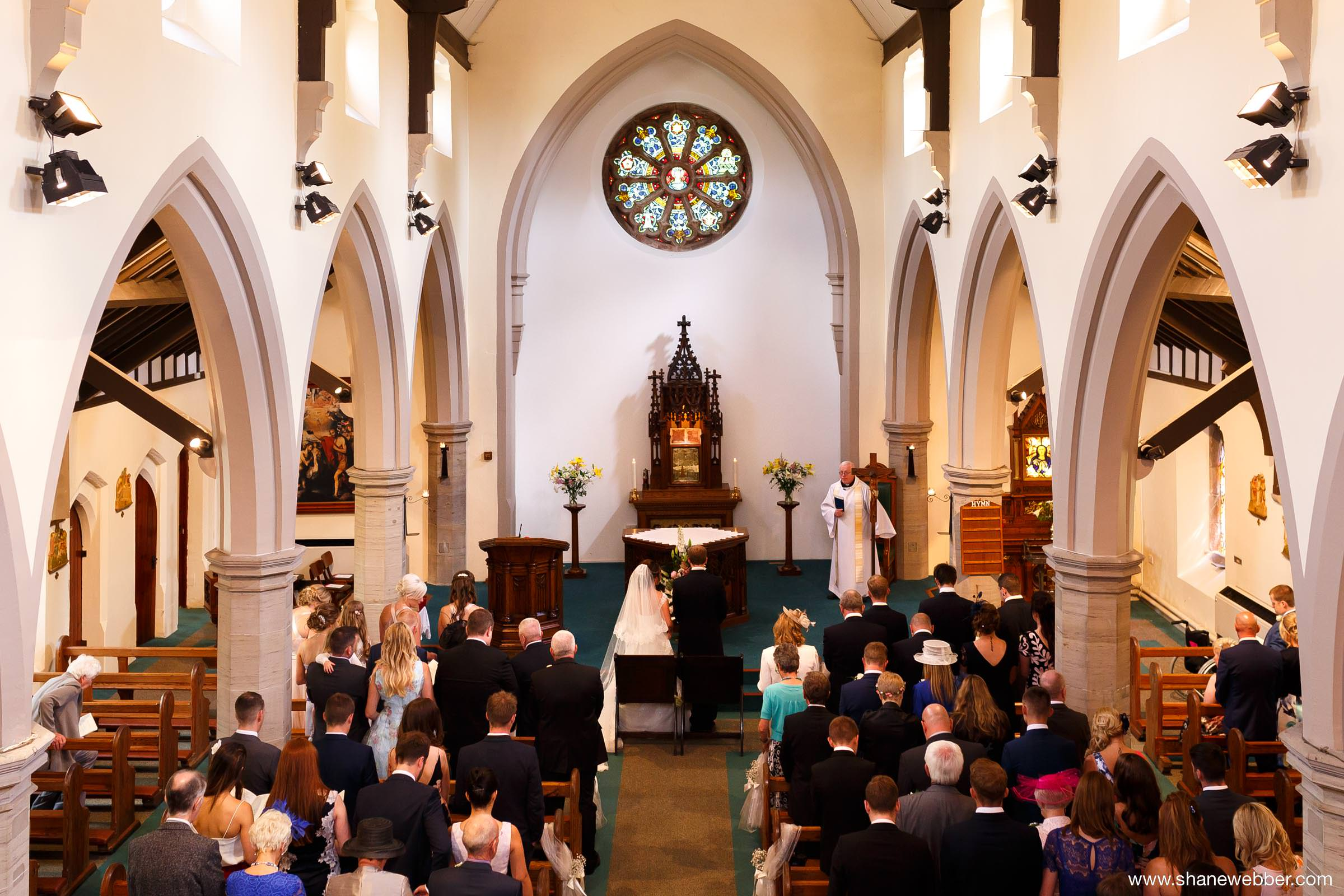 Our Lady's Church Wigan wedding photography
