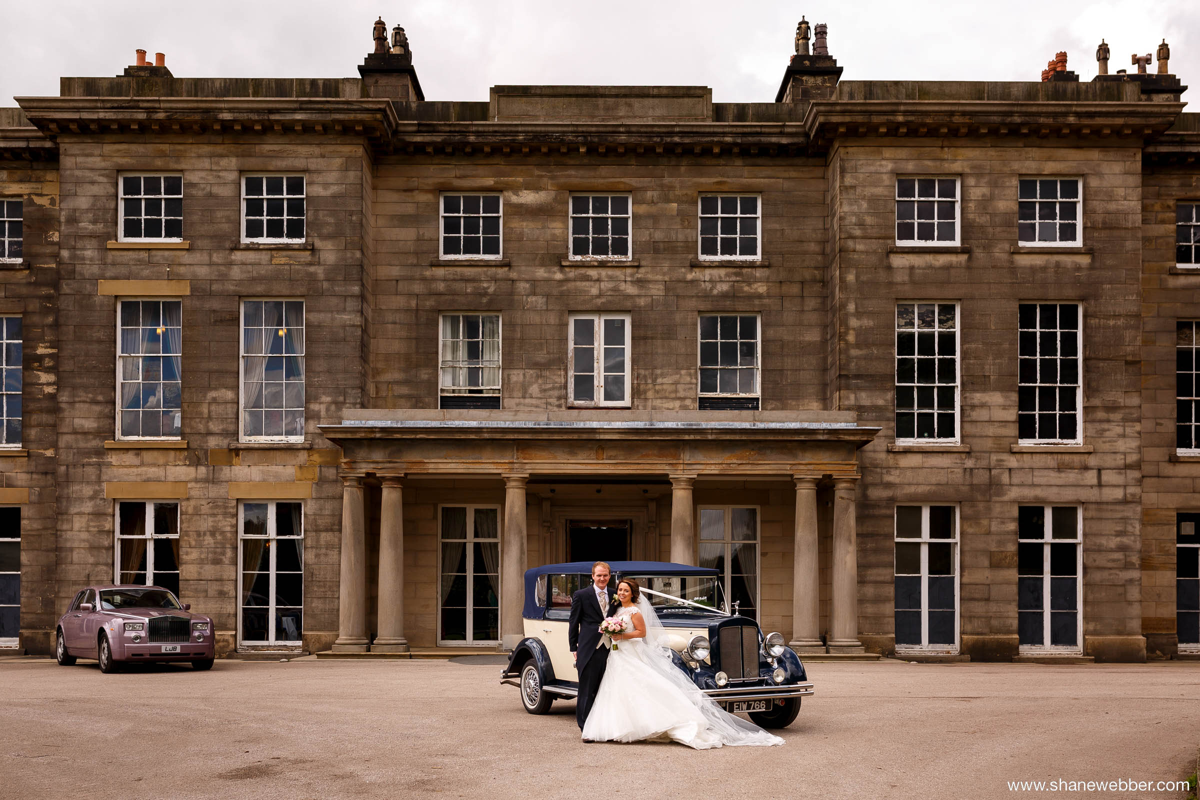 Weddings at Haigh Hall in Wigan