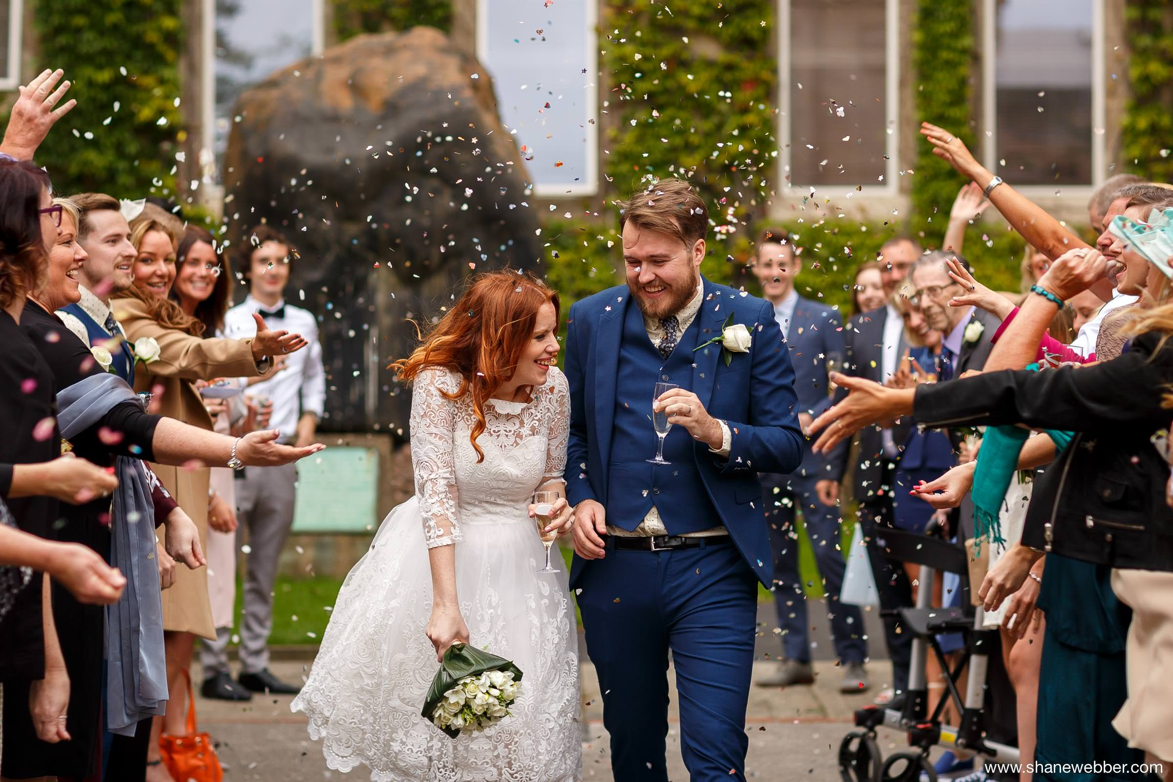 Dinosaur wedding confetti