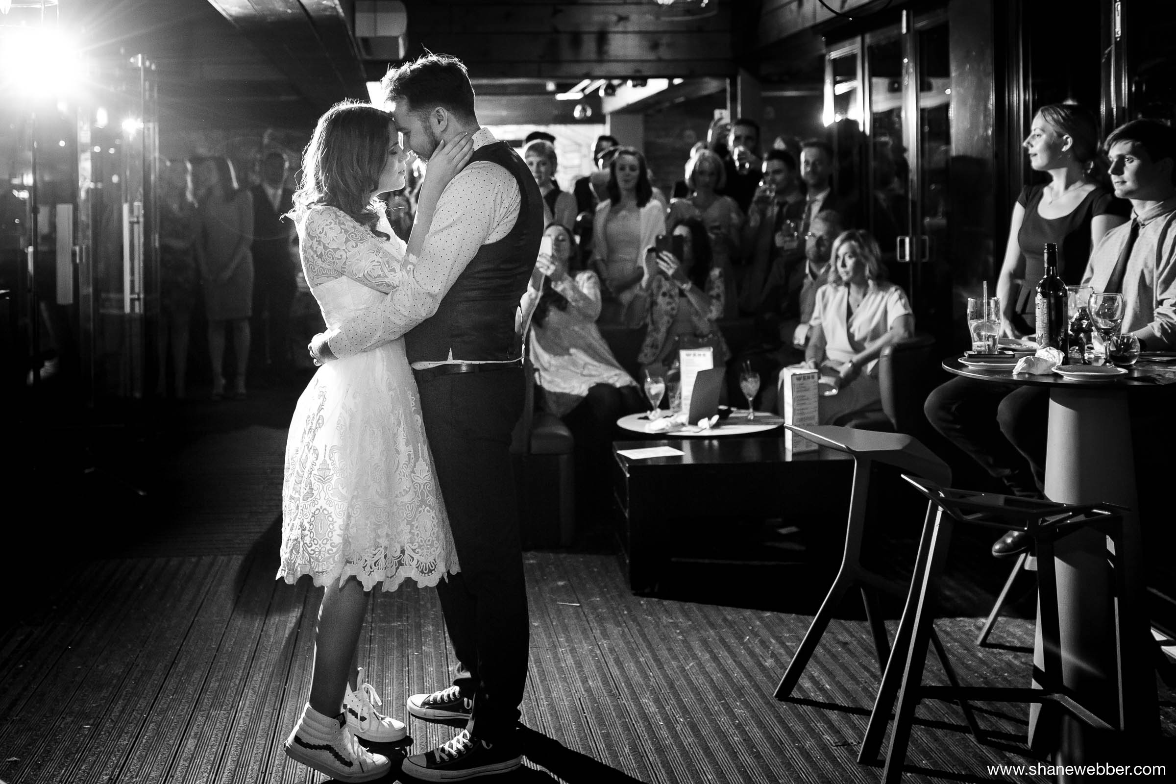 Blackdog Ballroom NWS wedding