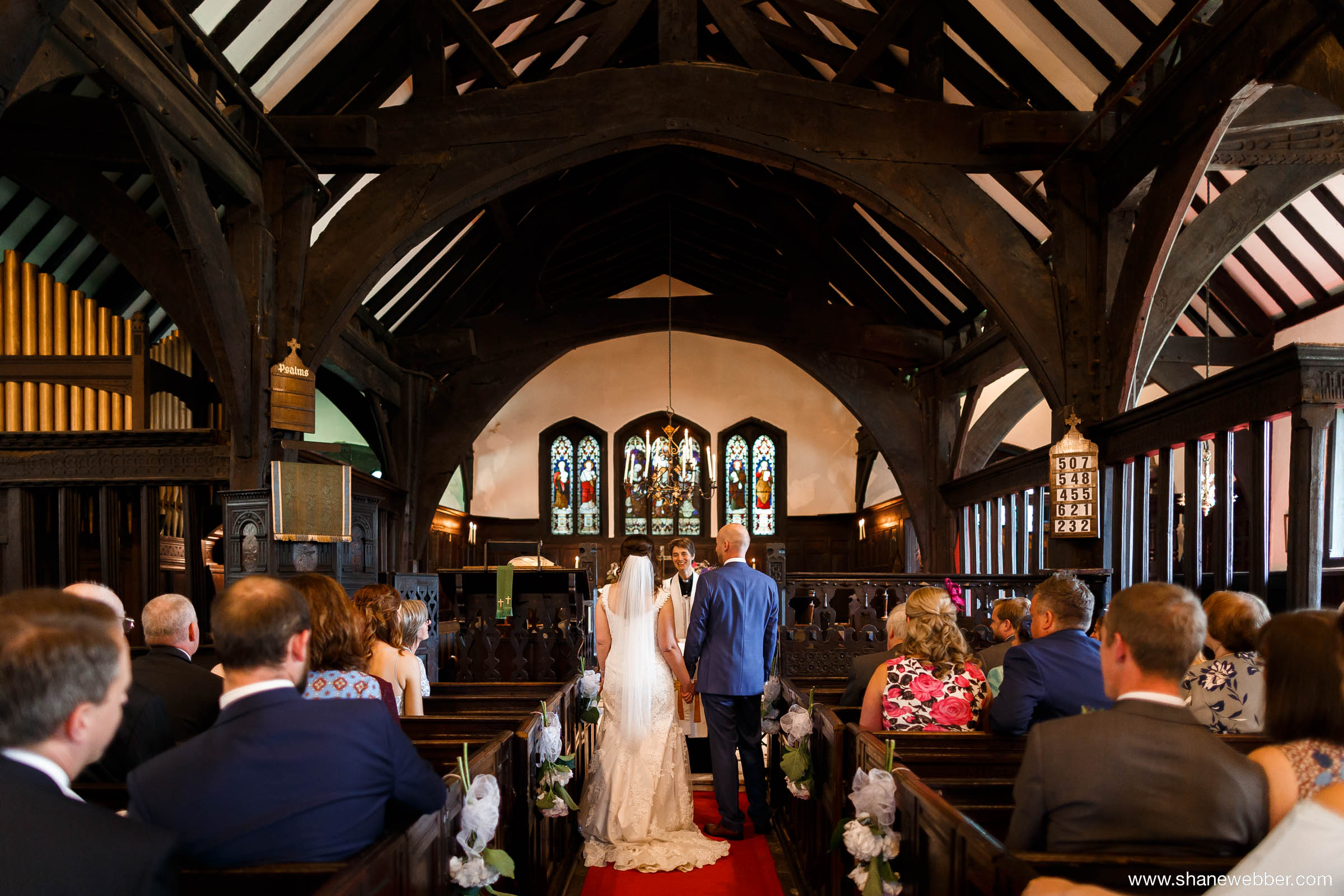 Weddings at Saint Oswald's Church in Lower Peover
