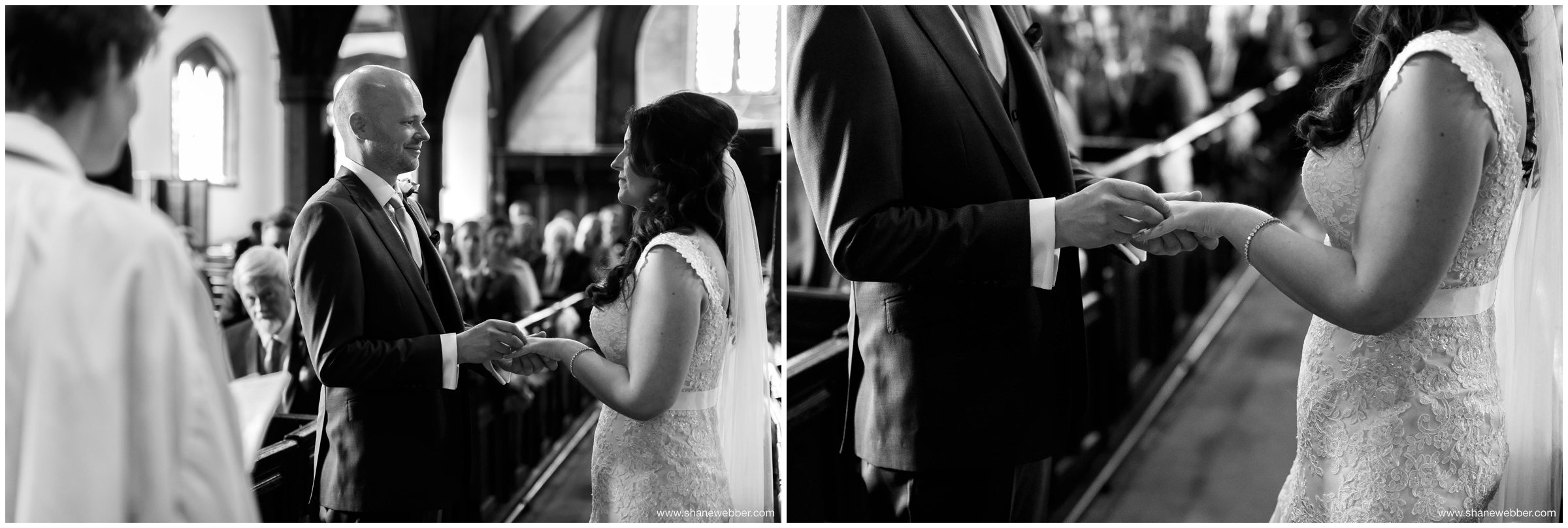 Saint Oswald's Church in Lower Peover wedding photos