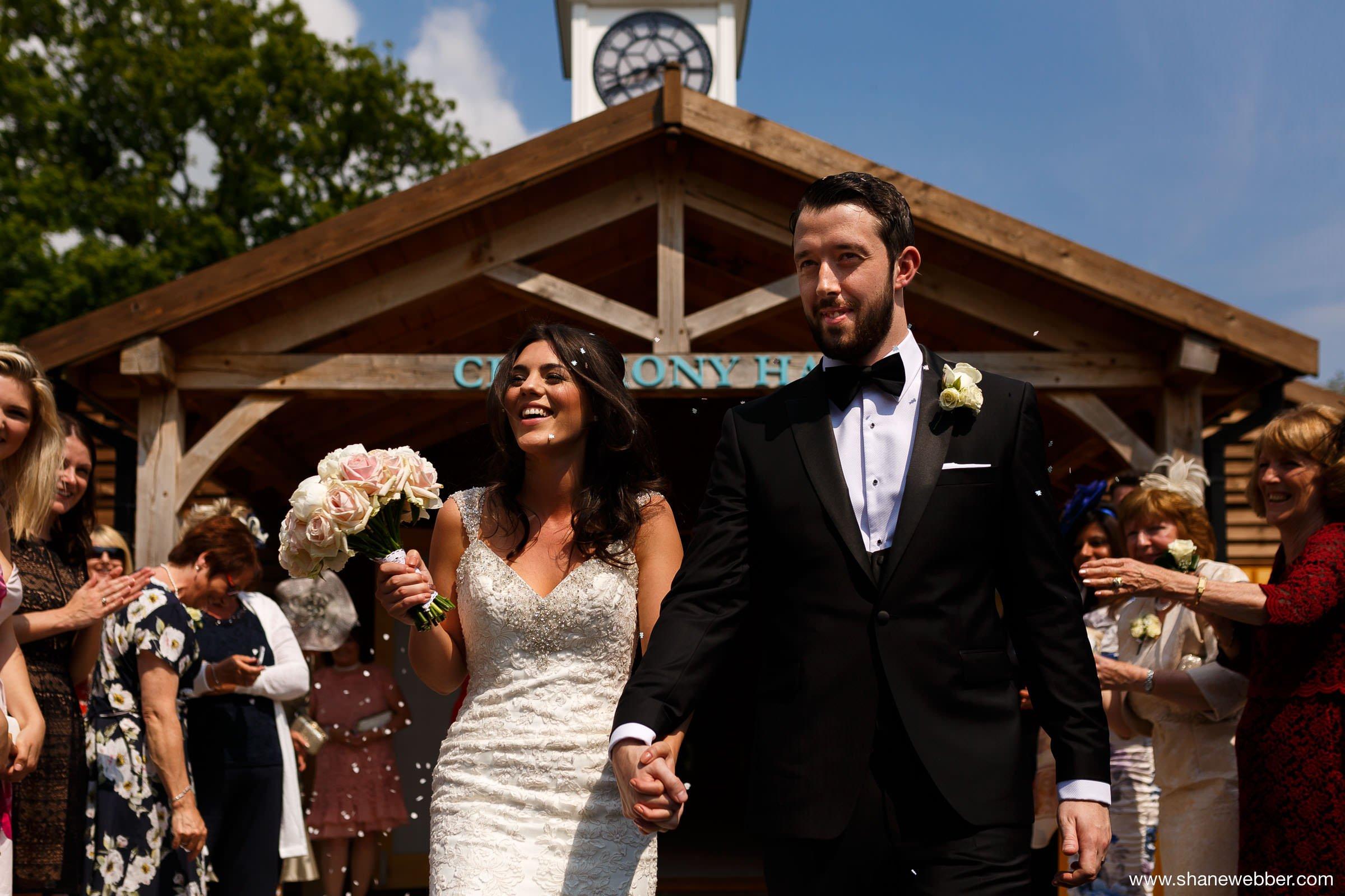 Colshaw Hall summer wedding photos