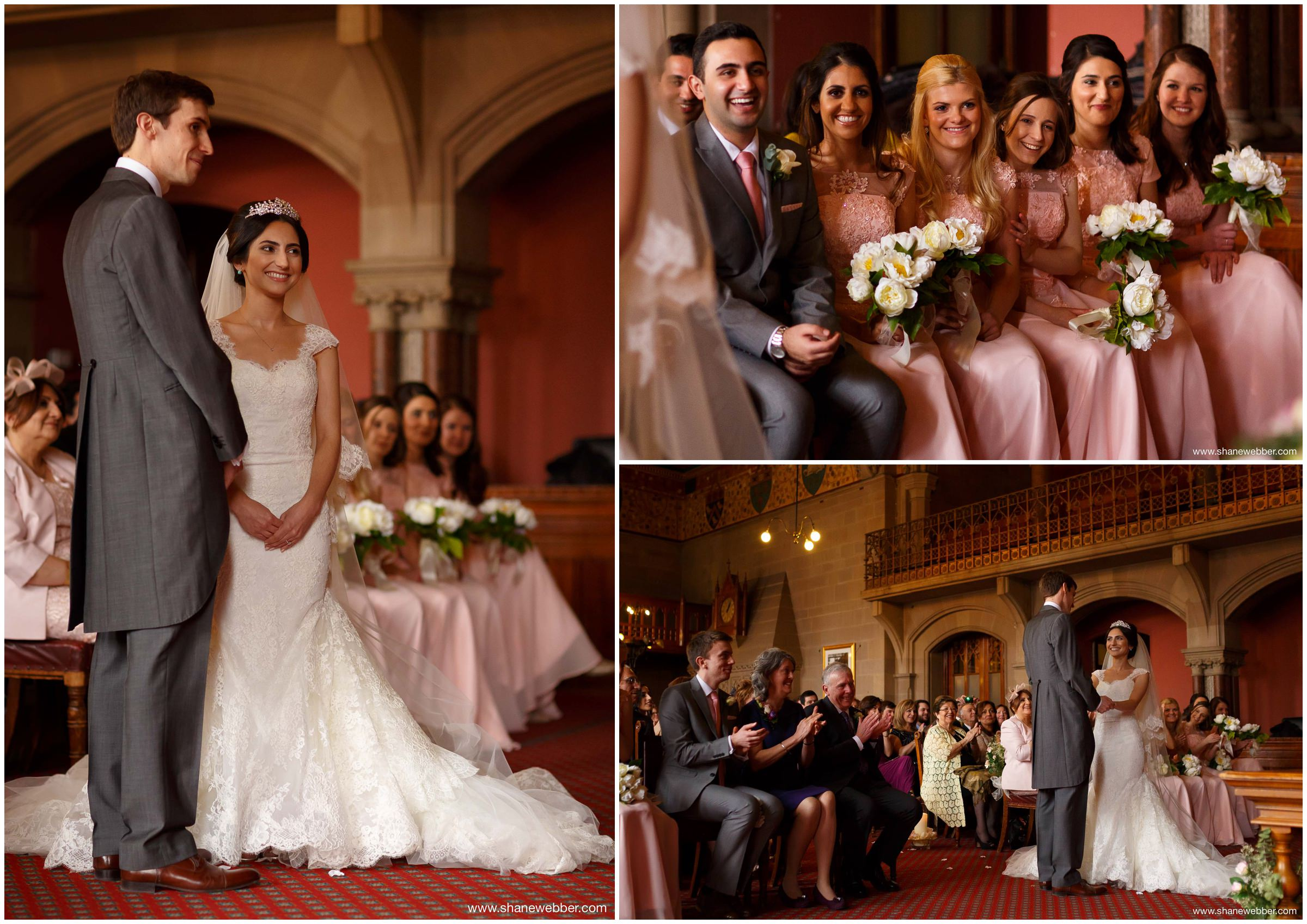 Manchester Town Hall Wedding Ceremony Photos