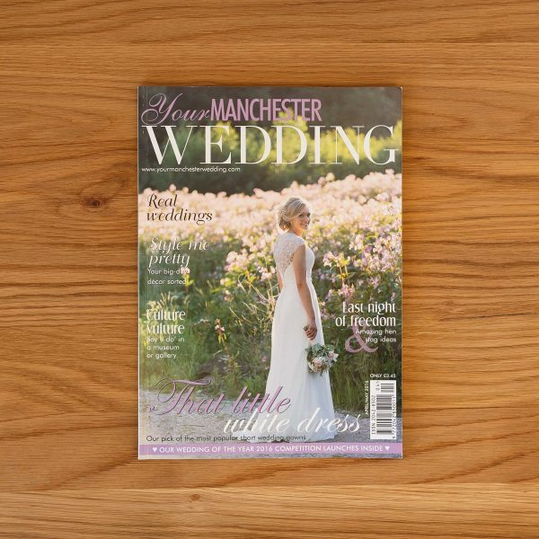 Manchester Wedding Photography Magazine Front Cover