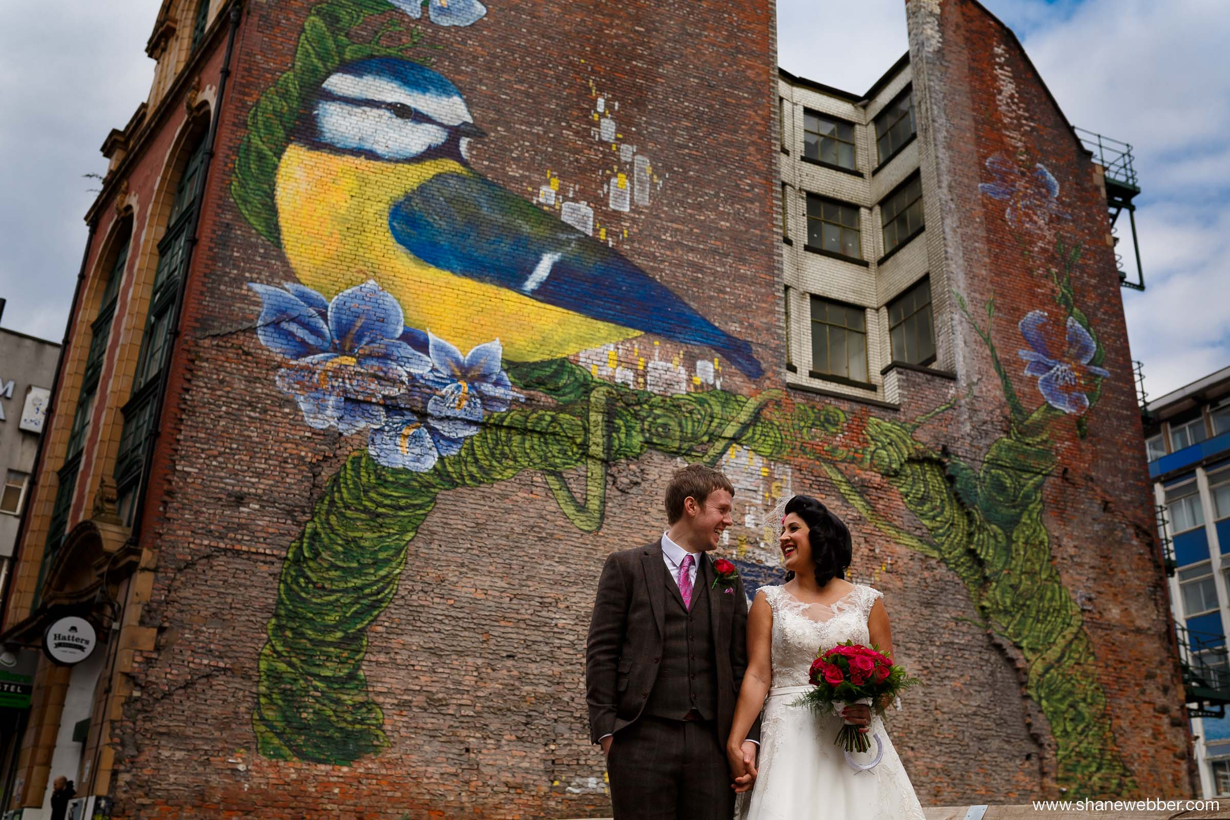 Manchester Northern Quarter wedding photos