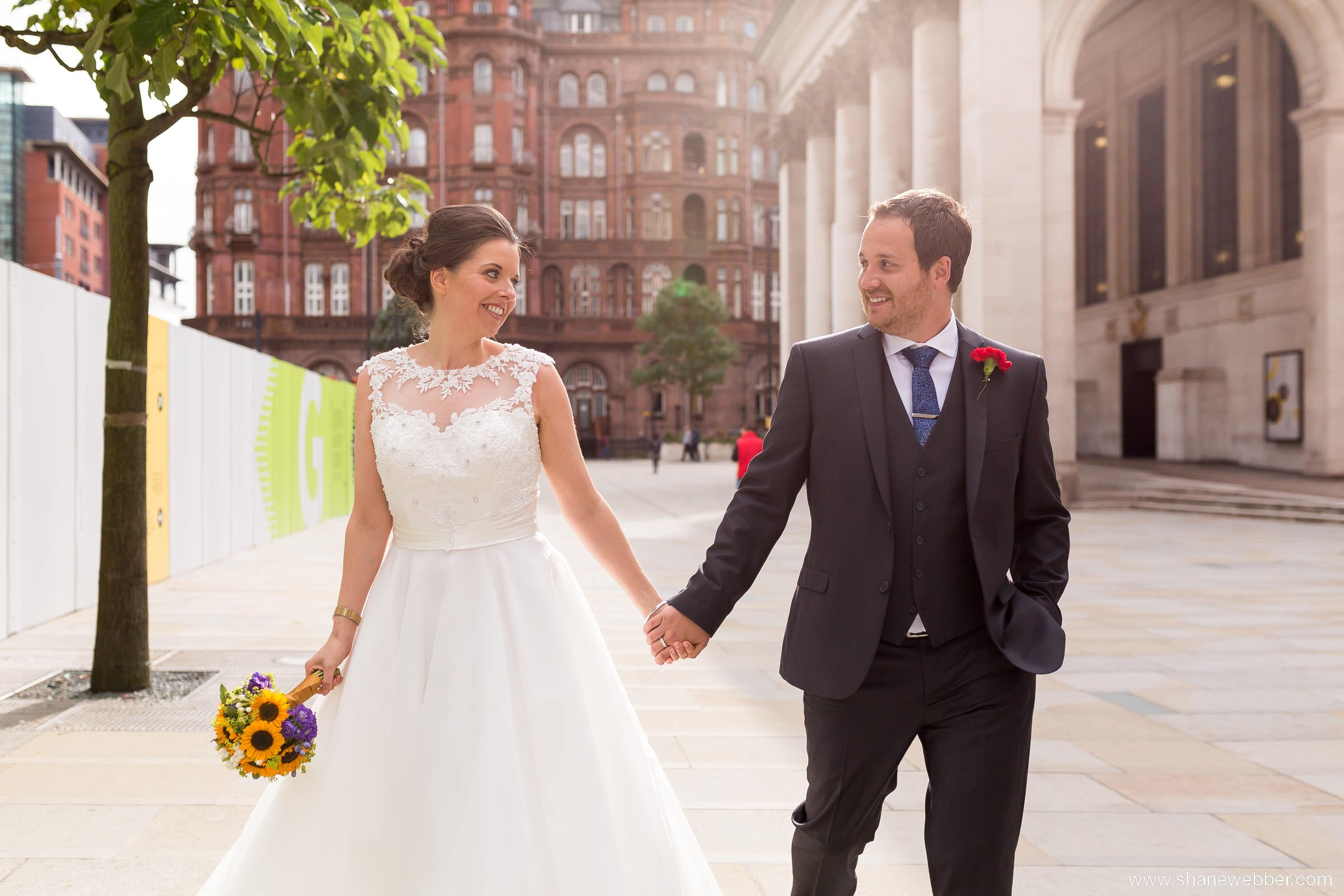 Manchester Town Hall wedding pictures