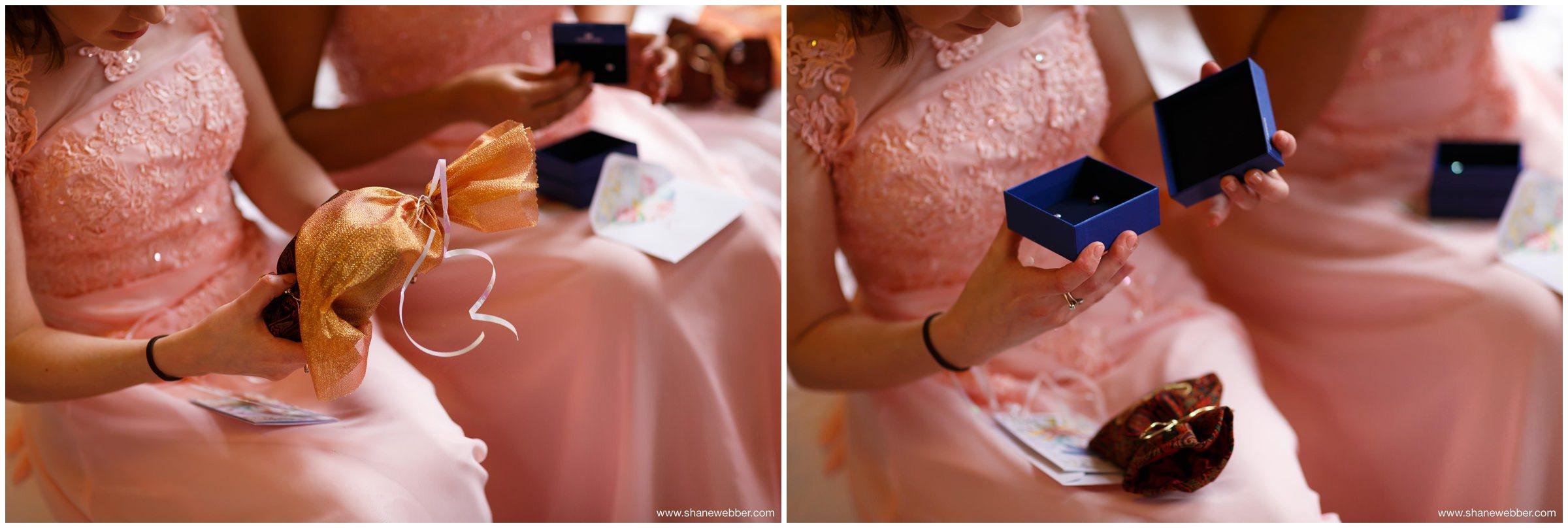 Iranian wedding presents