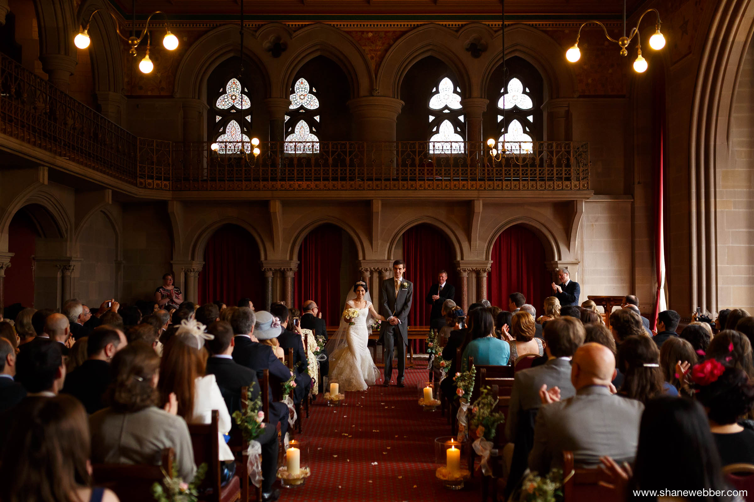 Ceremony at the Manchester Town Hall