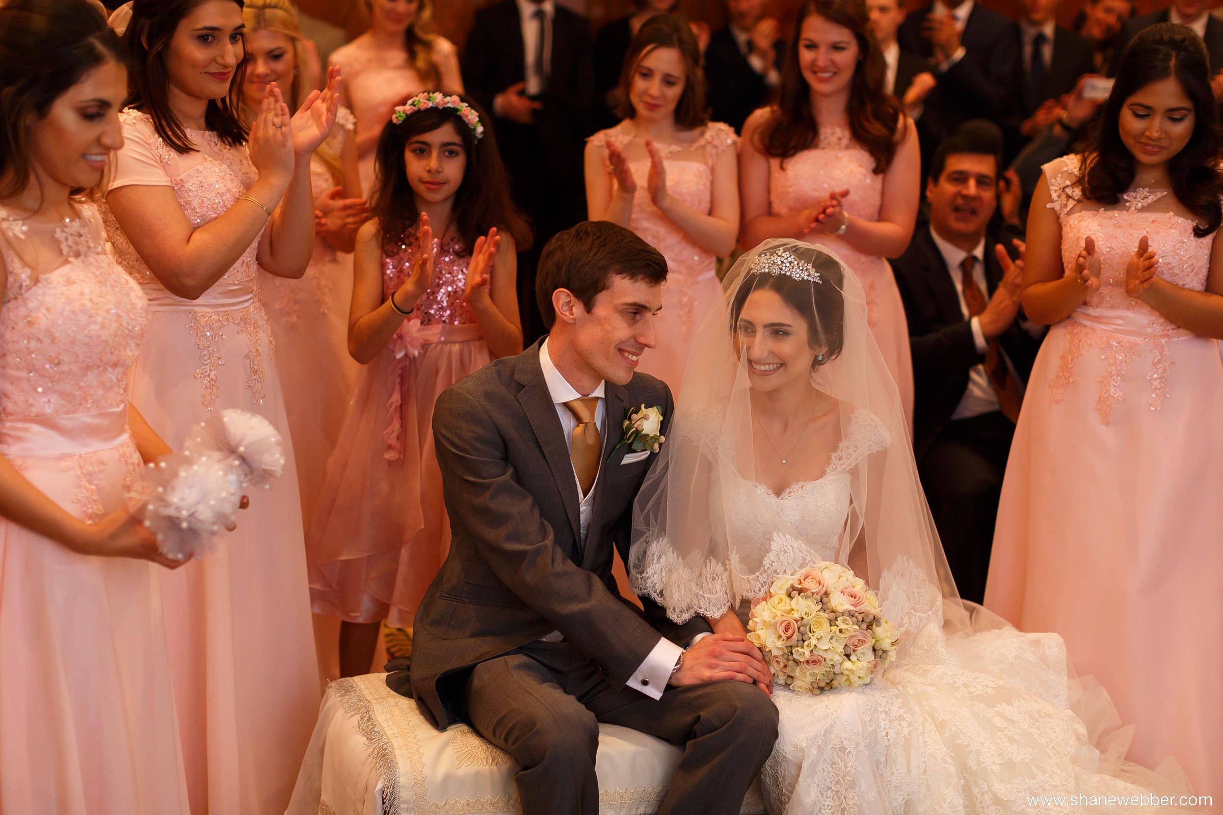 Cultural Iranian wedding