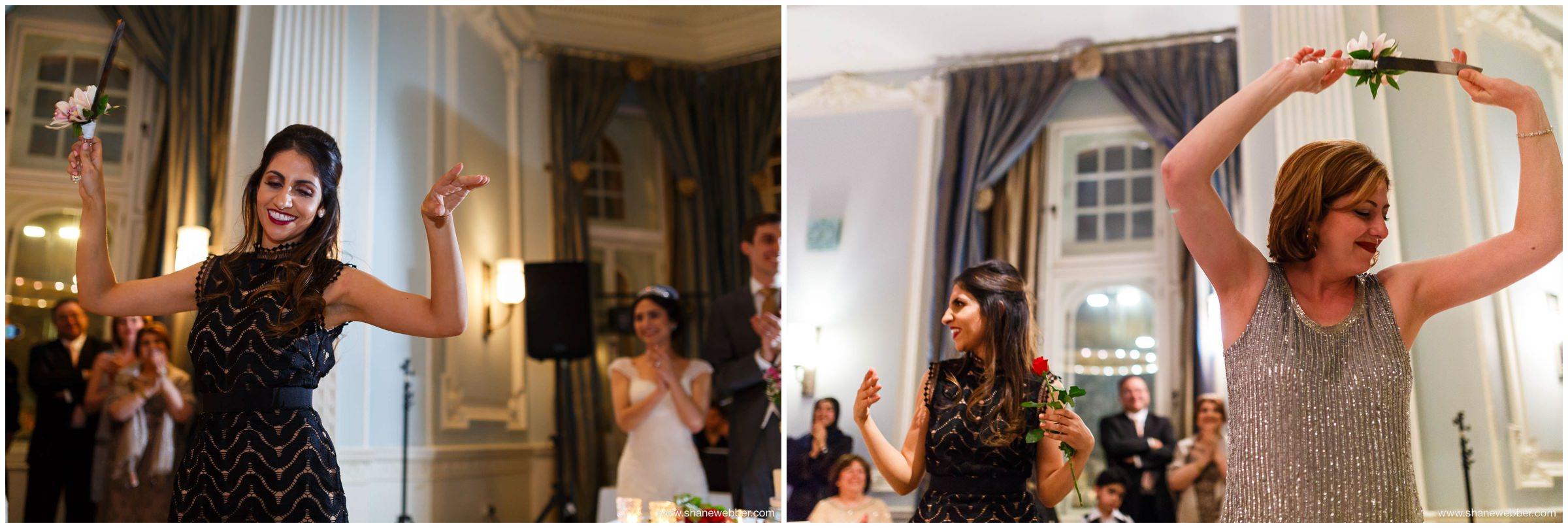 Iranian wedding reception
