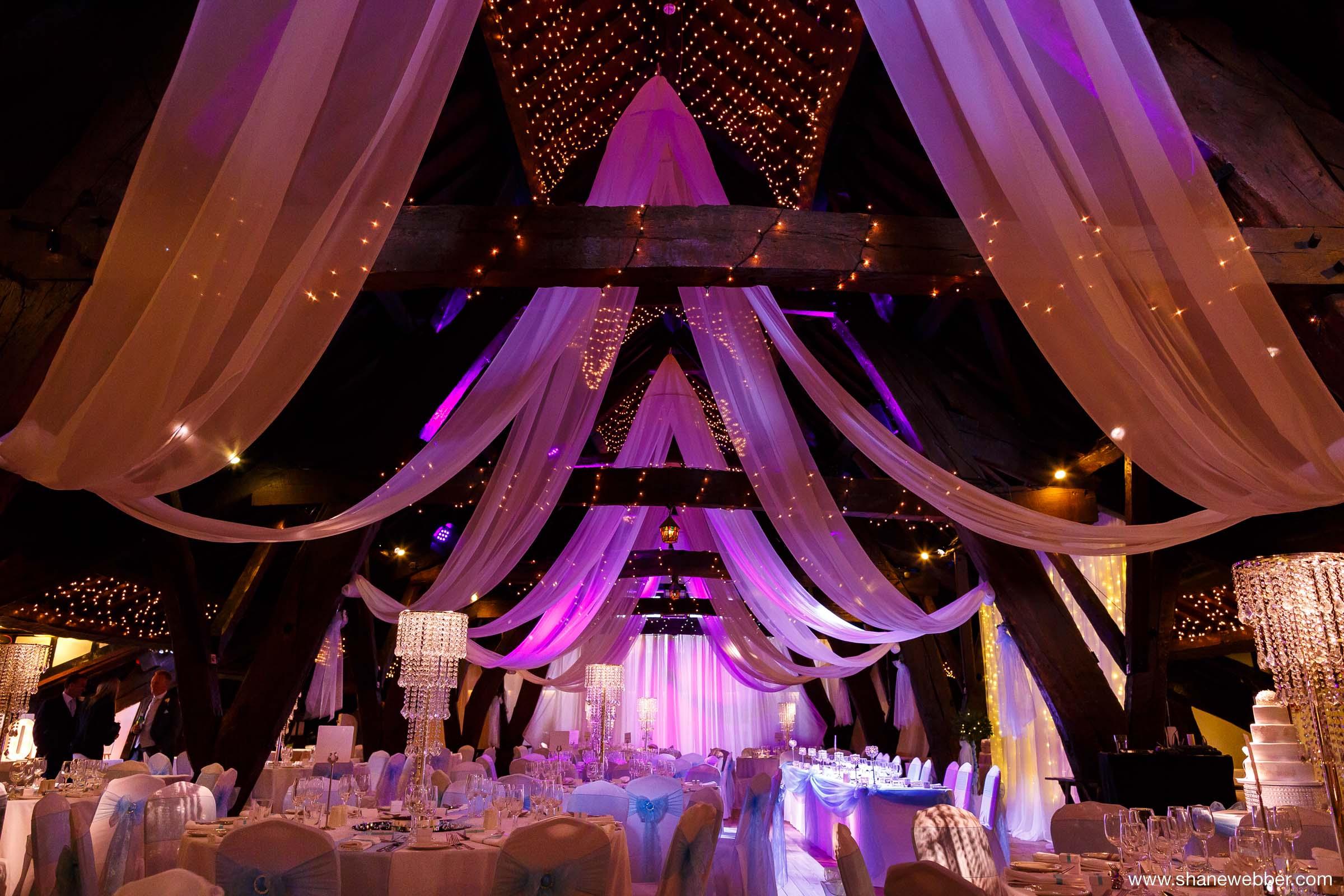 Inside Rivington Hall Barn Weddings