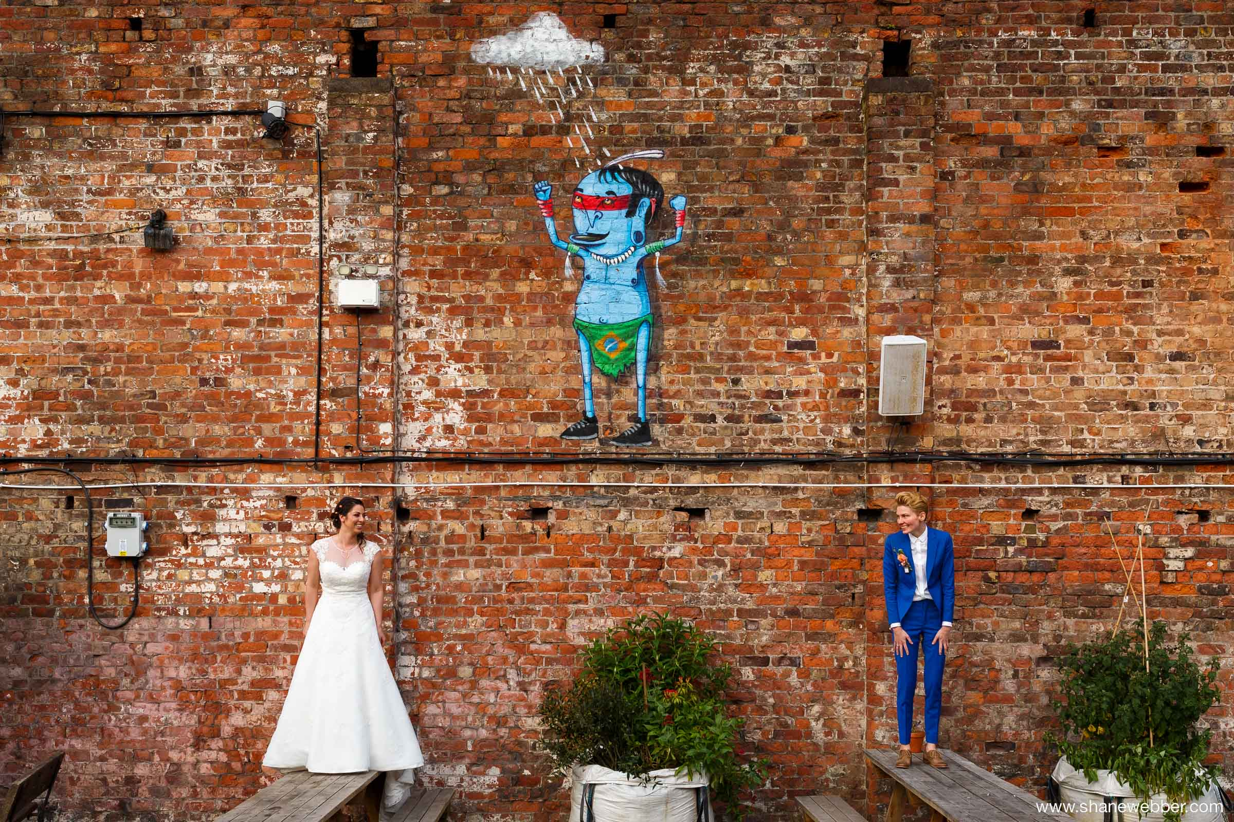 Funky Wedding Photography Ideas