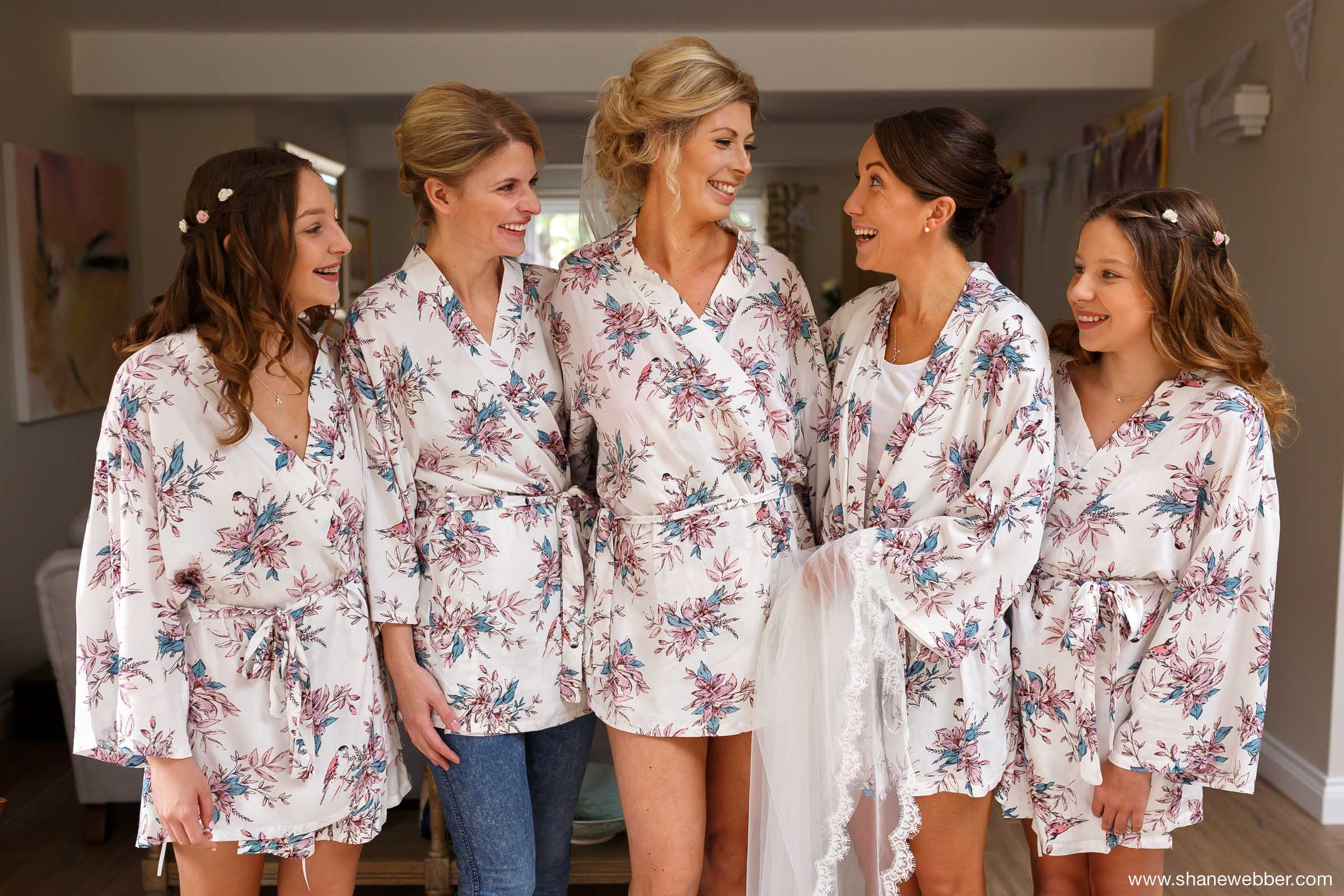 Wedding dressing gowns