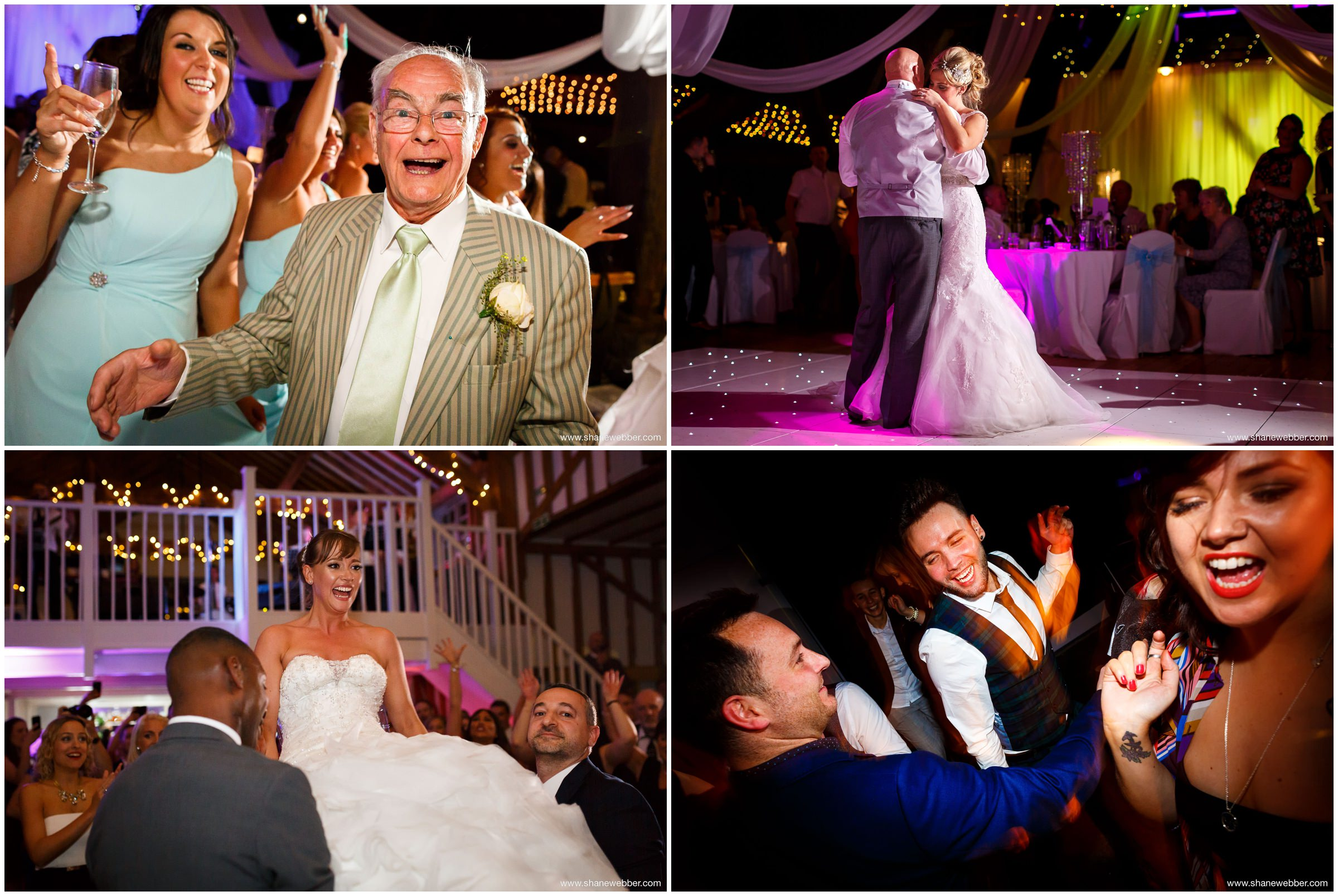 My top Manchester weddings collage