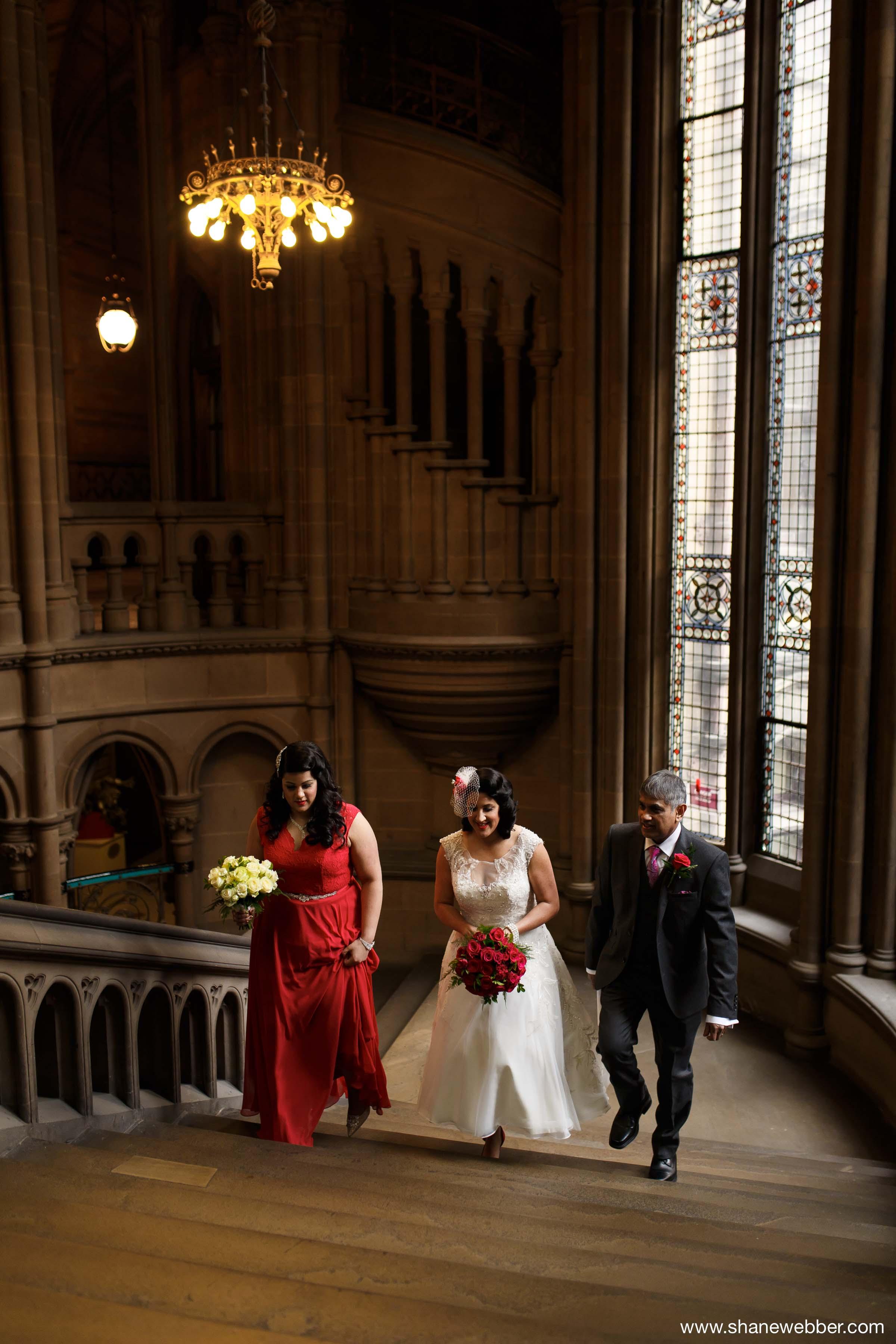 Manchester Town Hall wedding