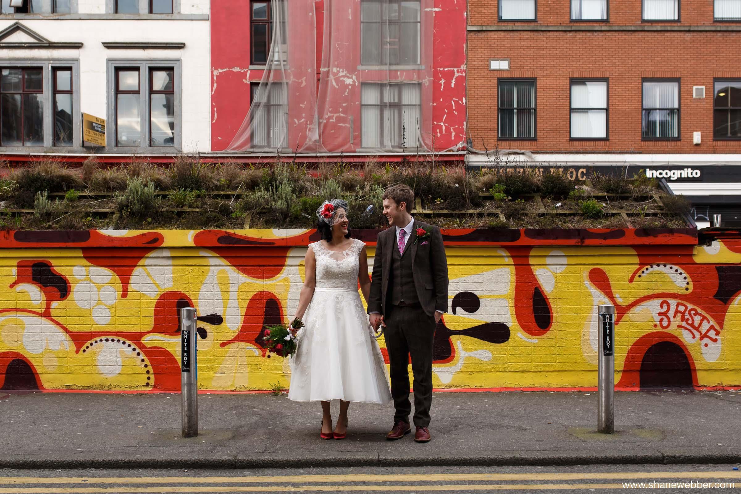 Northern Quarter Manchester Wedding Photography
